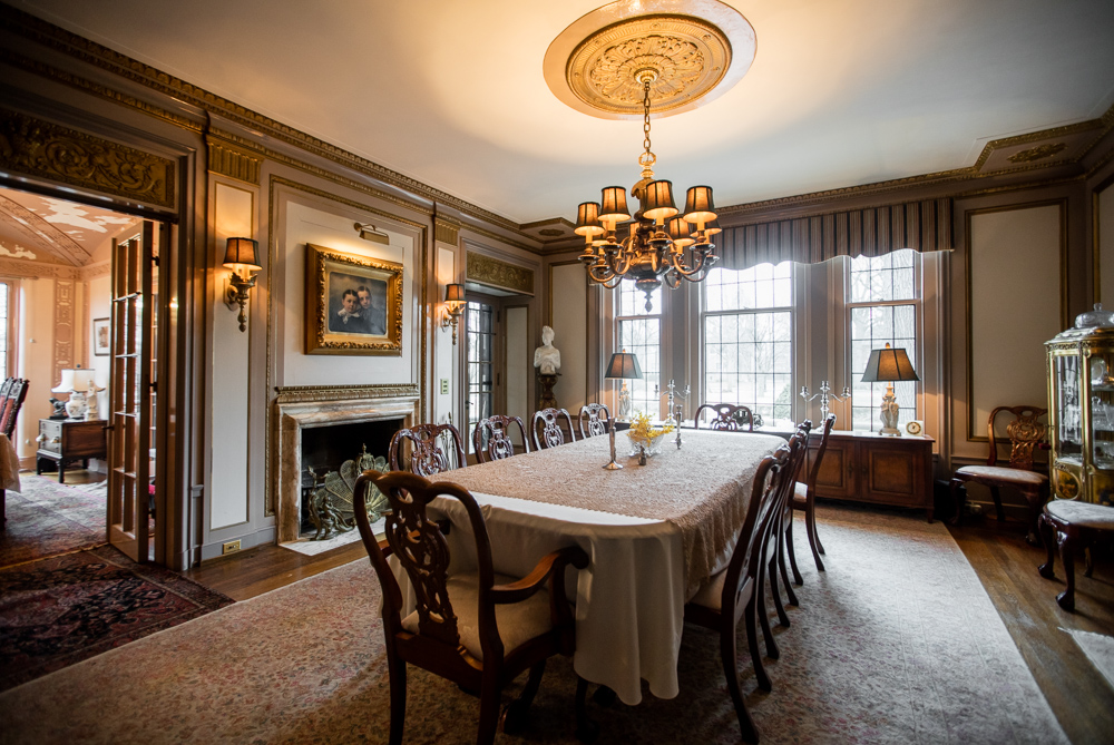 Fisher Mansion Interior And Exterior Shots