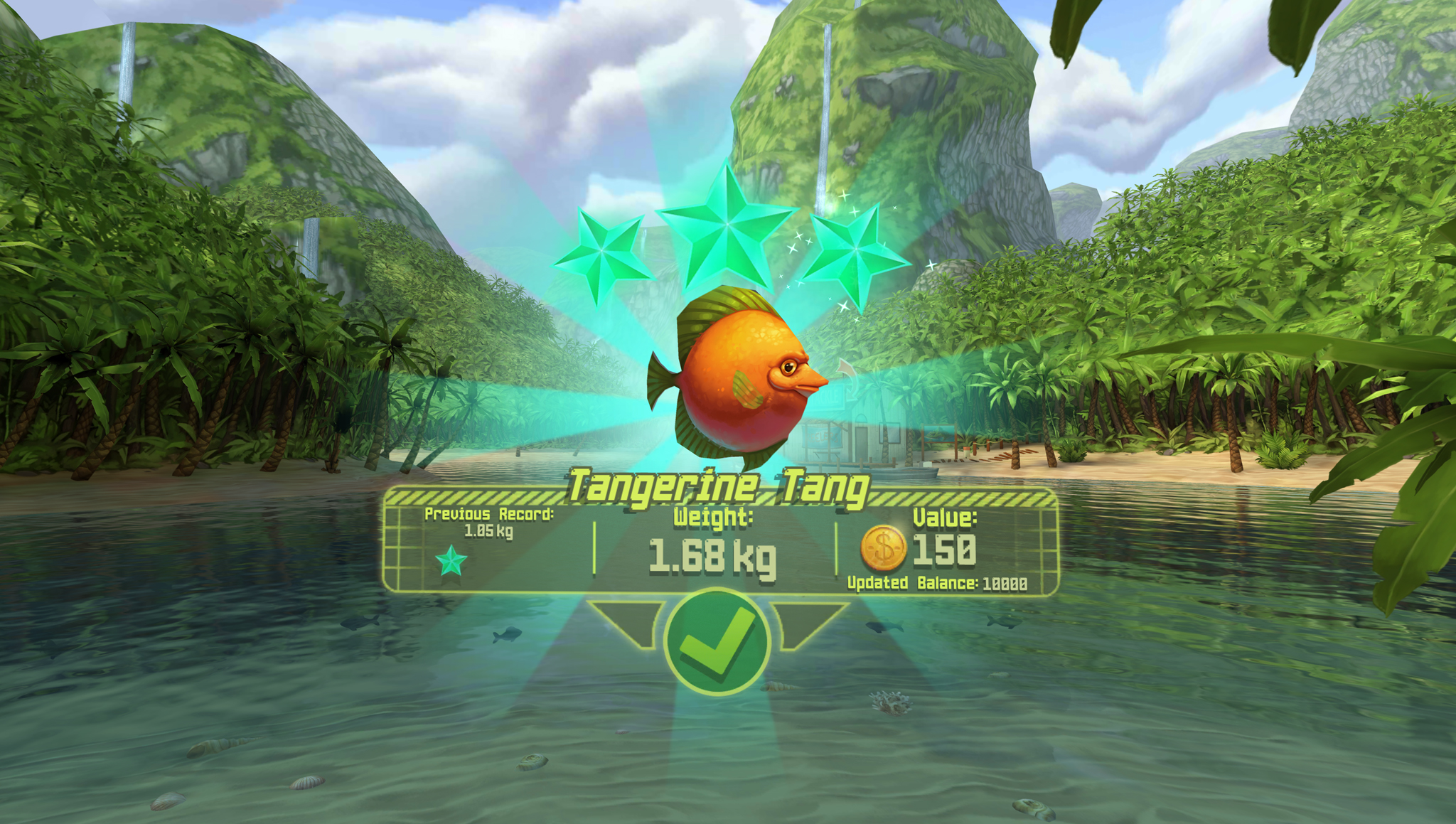 This colorful fishing game is a perfect entry to virtual for Virtual reality fishing