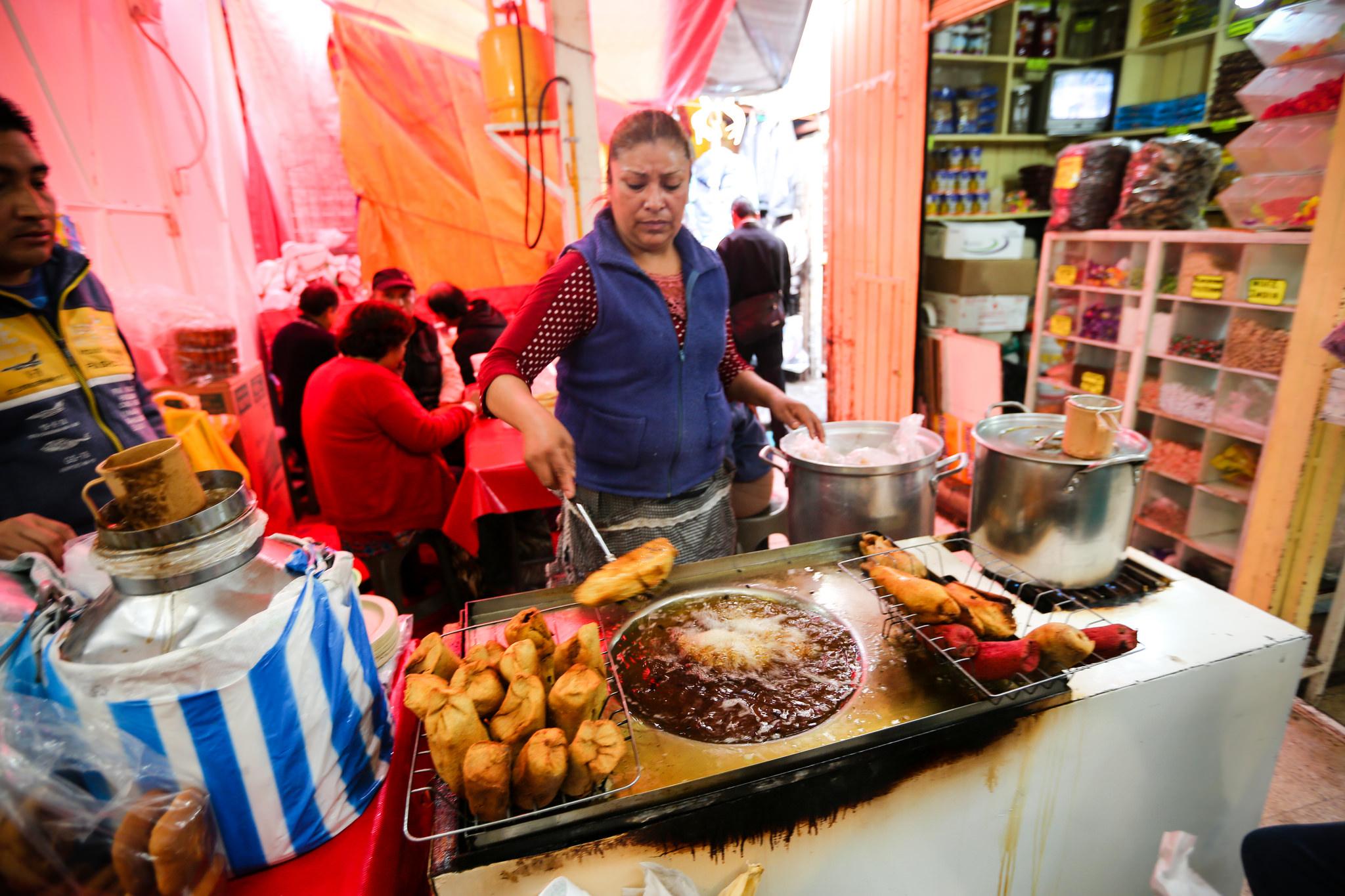 Mexican Food Market Street