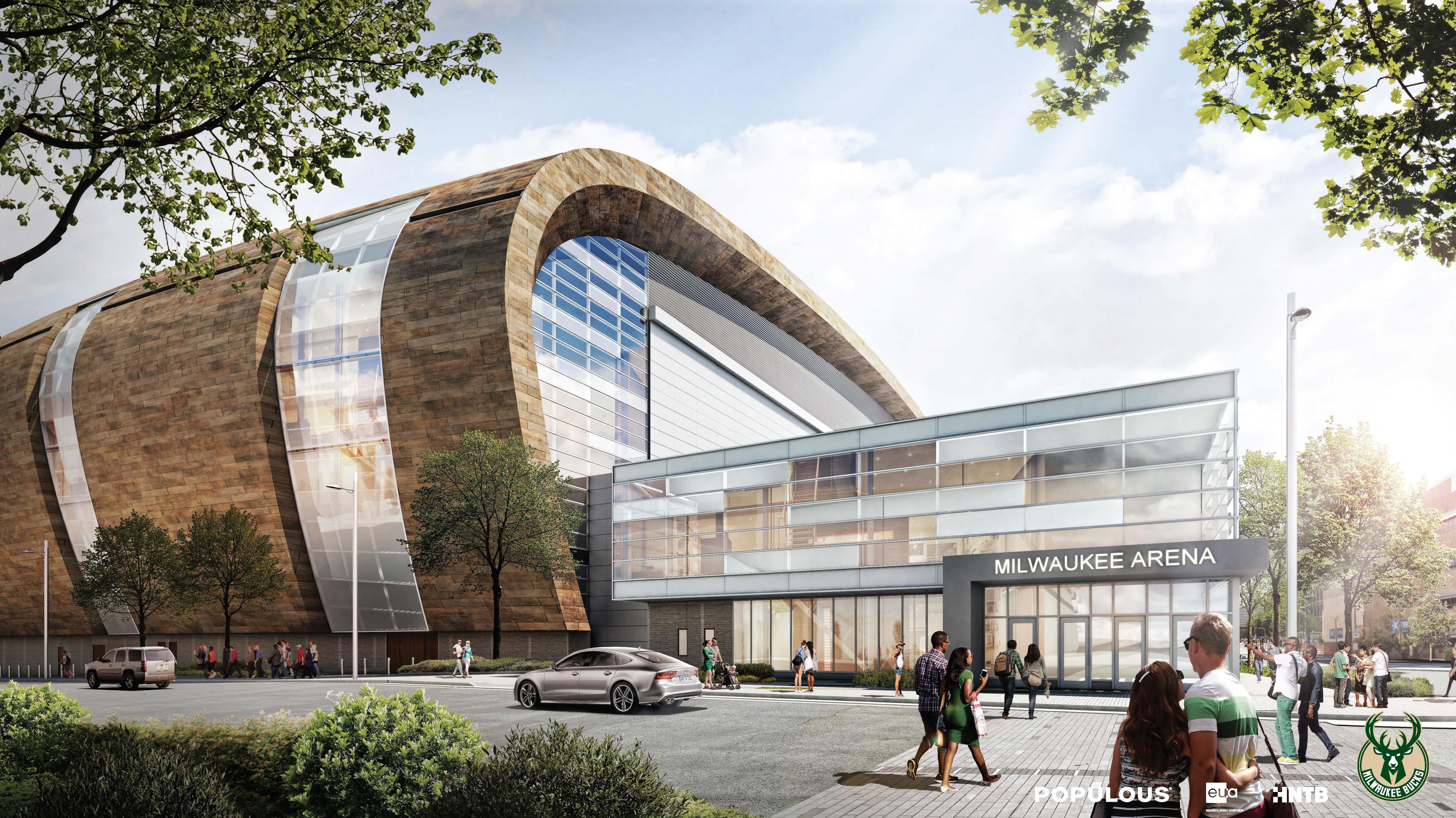 Milwaukee Bucks Release New Arena Renderings Target