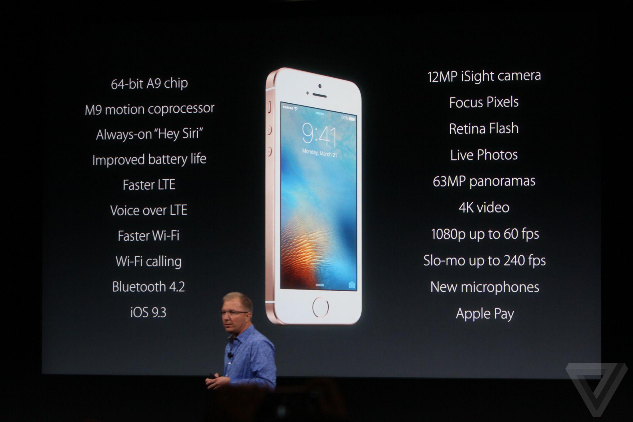 d72d4971b84d6 iPhone SE announced  iPhone 6S specs