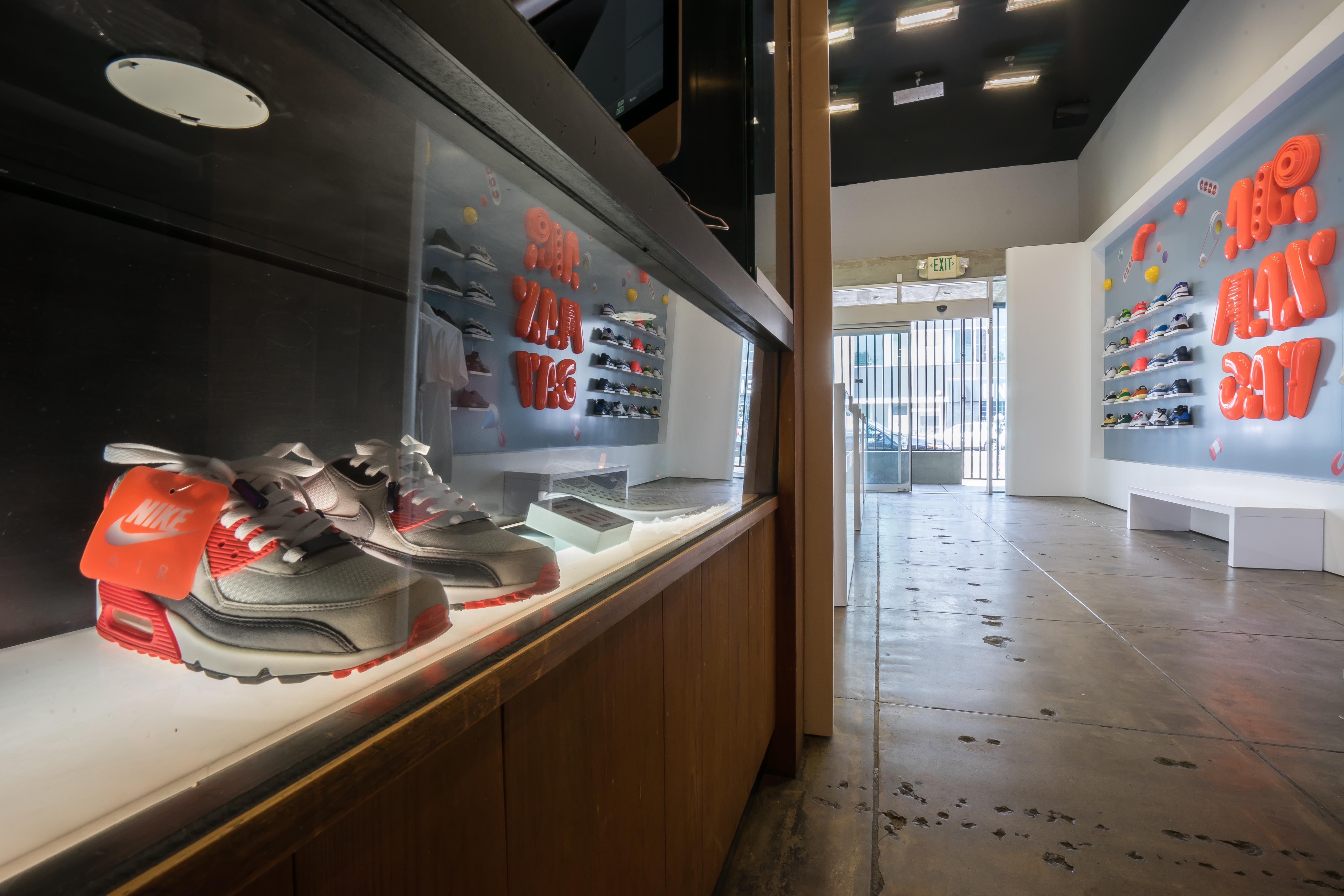 bd4637bfef6d84 Nike s New Air Max Pop-Up on La Brea Is Sneakerhead Heaven - Racked LA