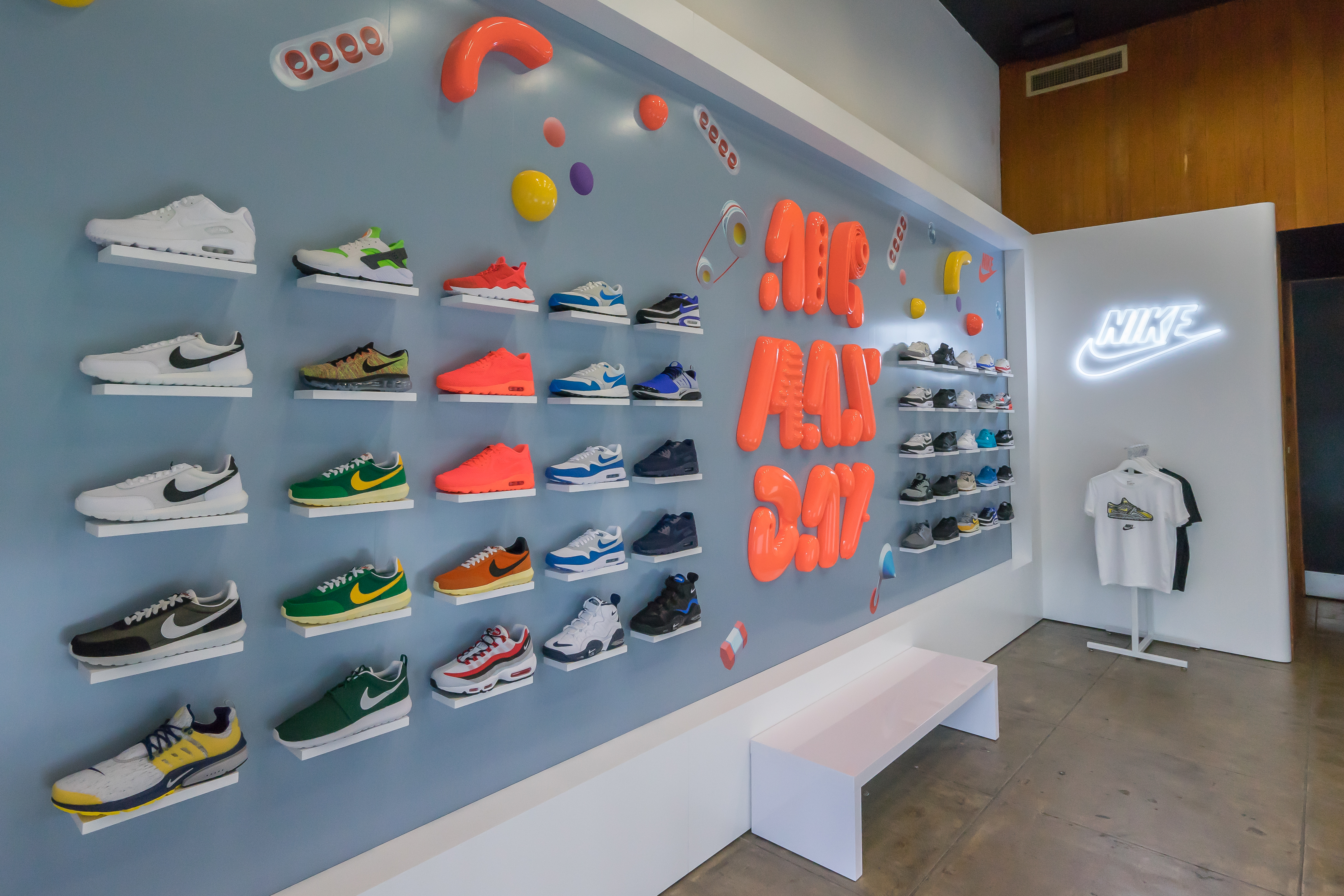 ac40a5999b4b1 Nike s New Air Max Pop-Up on La Brea Is Sneakerhead Heaven - Racked LA
