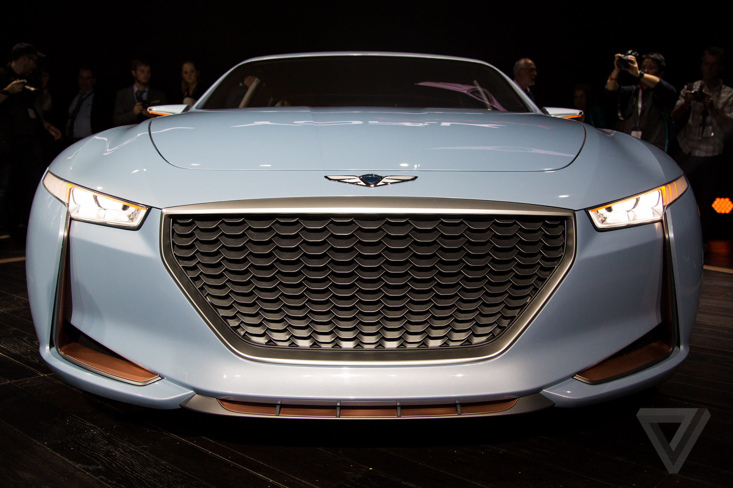 Genesis New York Concept Is A Sports Sedan That Ll Make You Look
