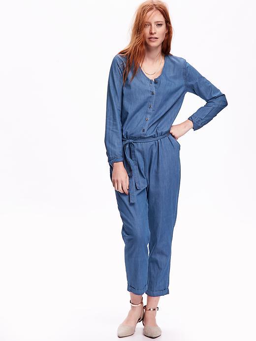 5d7b78c9822 Denim jumpsuit Old Navy, $44.94 · Linen cocoon dress