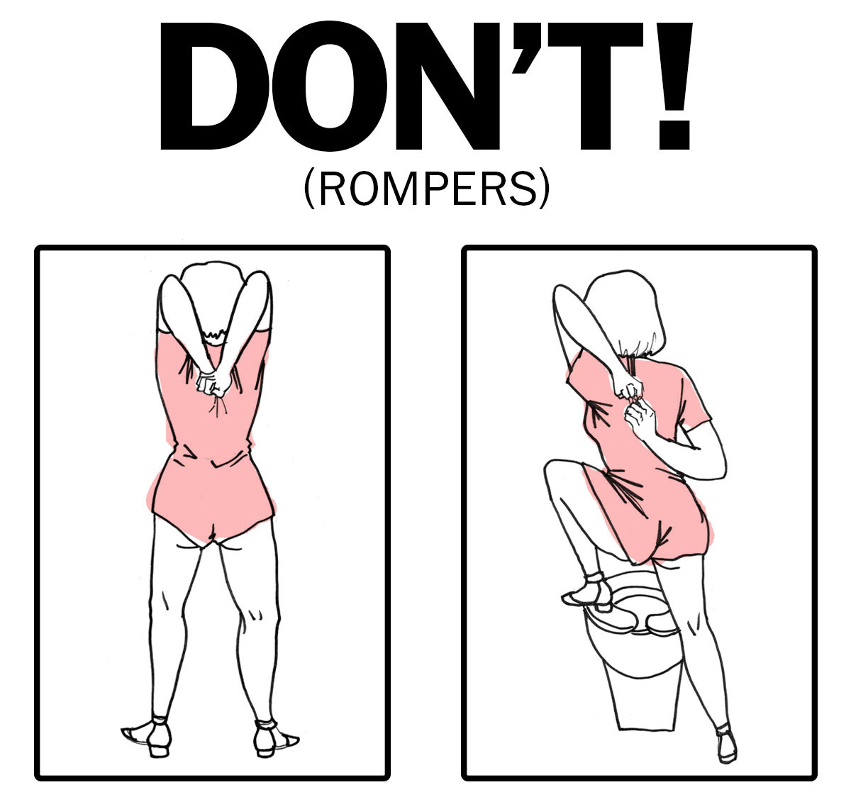 Problems going to the bathroom - A Bathroom Goer S Guide To Rompers