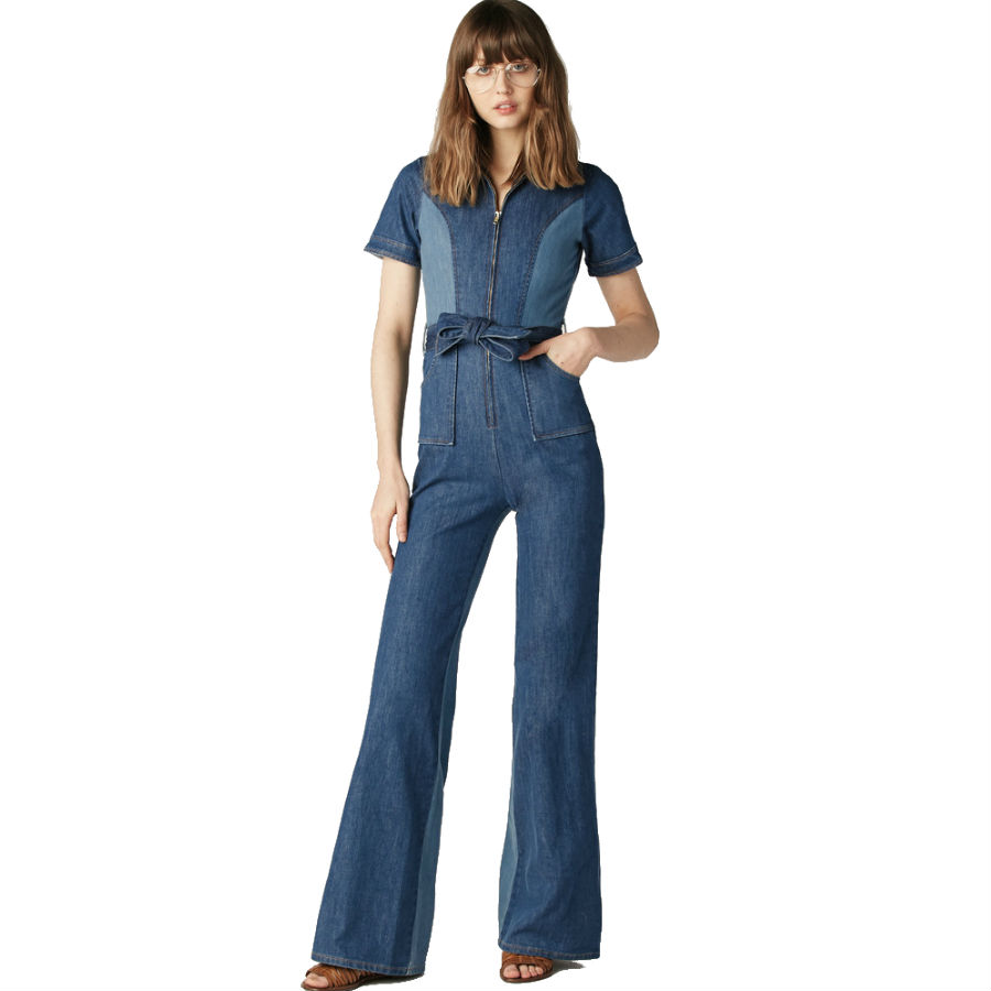 515077315a1f You Can t Go Wrong With the Classic Denim Jumpsuit - Racked