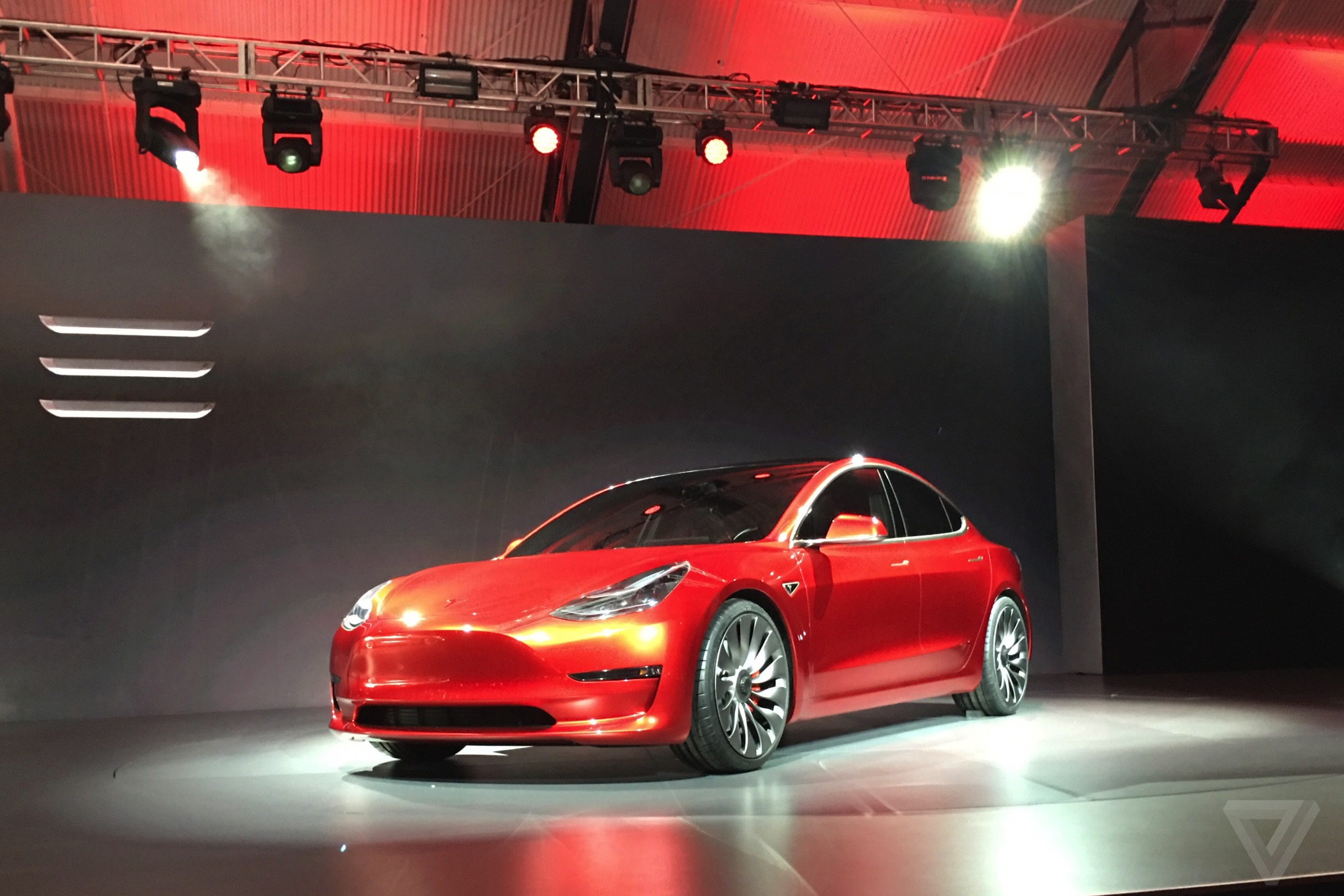 new car model releaseTesla Model 3 announced release set for 2017 price starts at