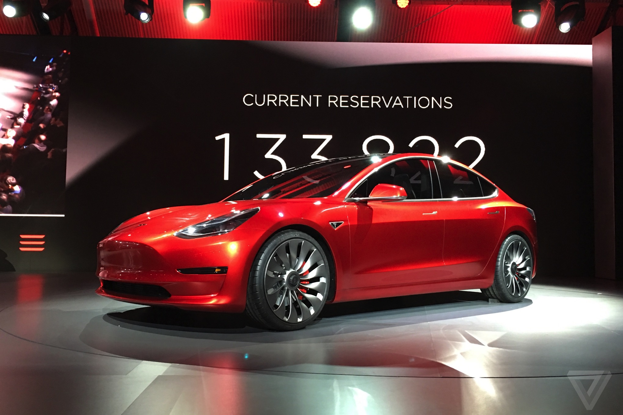 tesla model 3 announced release set for 2017 price. Black Bedroom Furniture Sets. Home Design Ideas
