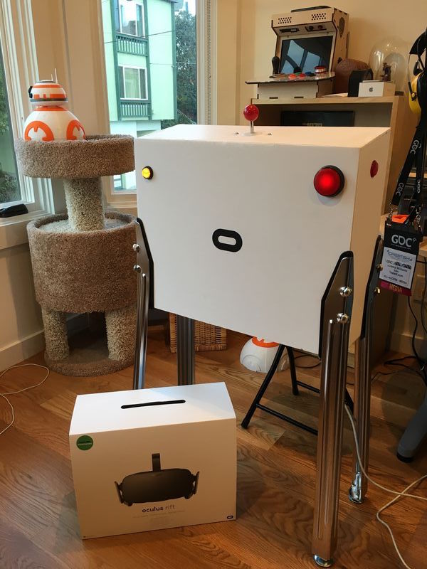PinSim is a custom virtual reality pinball rig - The Verge