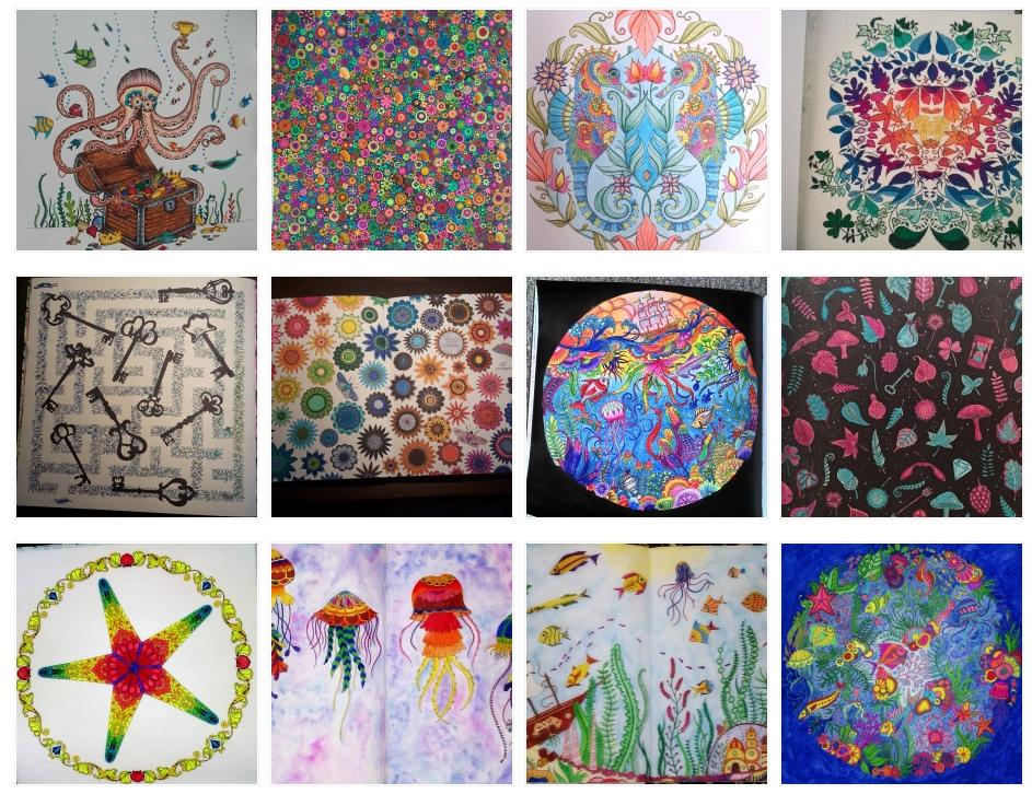 Johanna Basford Coloring Gallery