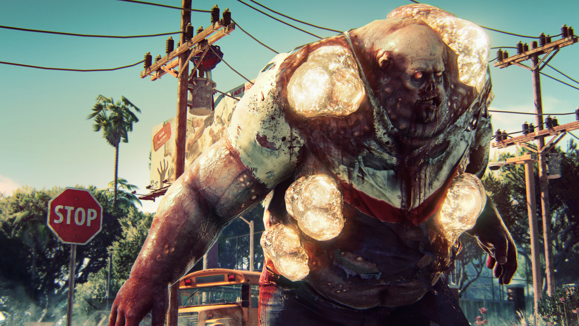 Dead Island 2's first gameplay trailer is filled with blood and sunshine