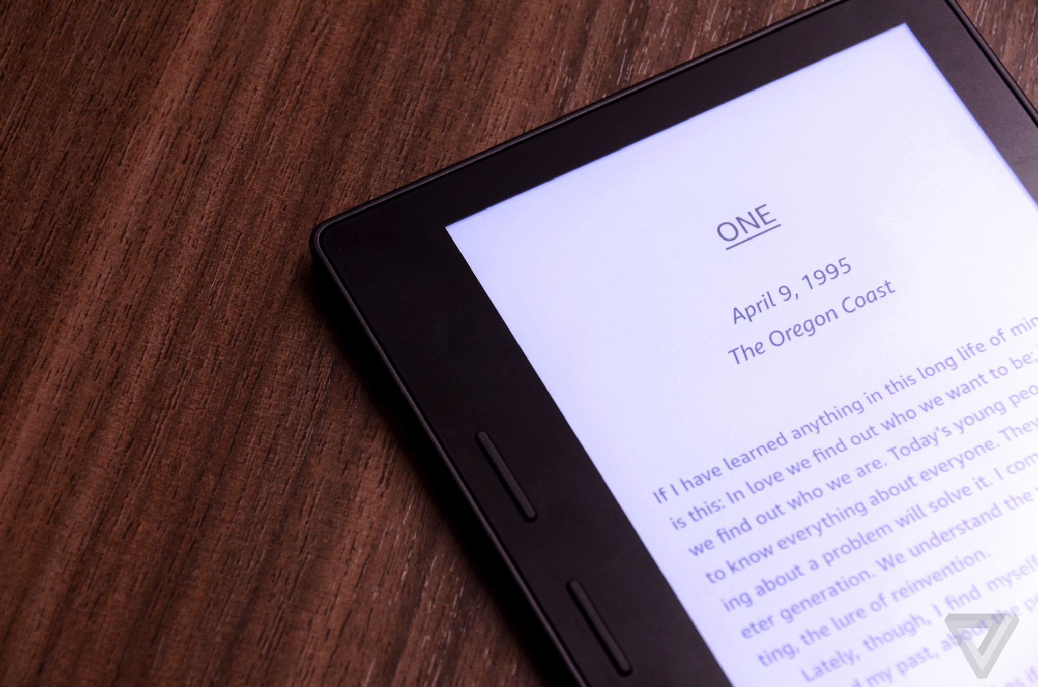 Amazon's Kindle Oasis is the funkiest e-reader it's ever made - The