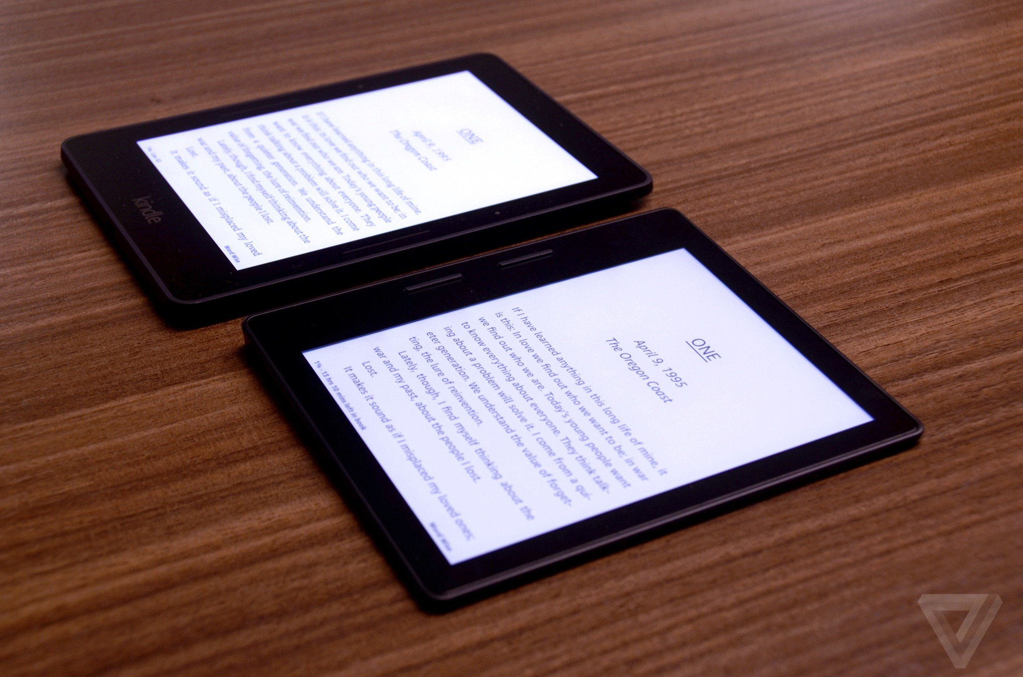 Amazon's Kindle Oasis is the funkiest e-reader it's ever
