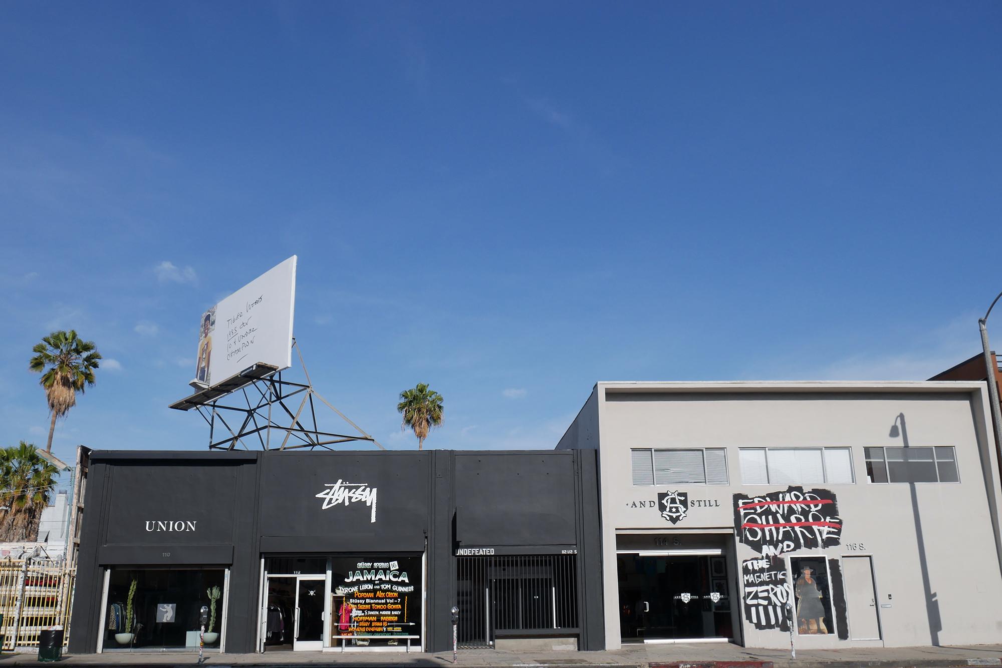 How Streetwear Heavy La Brea Avenue Became A High End
