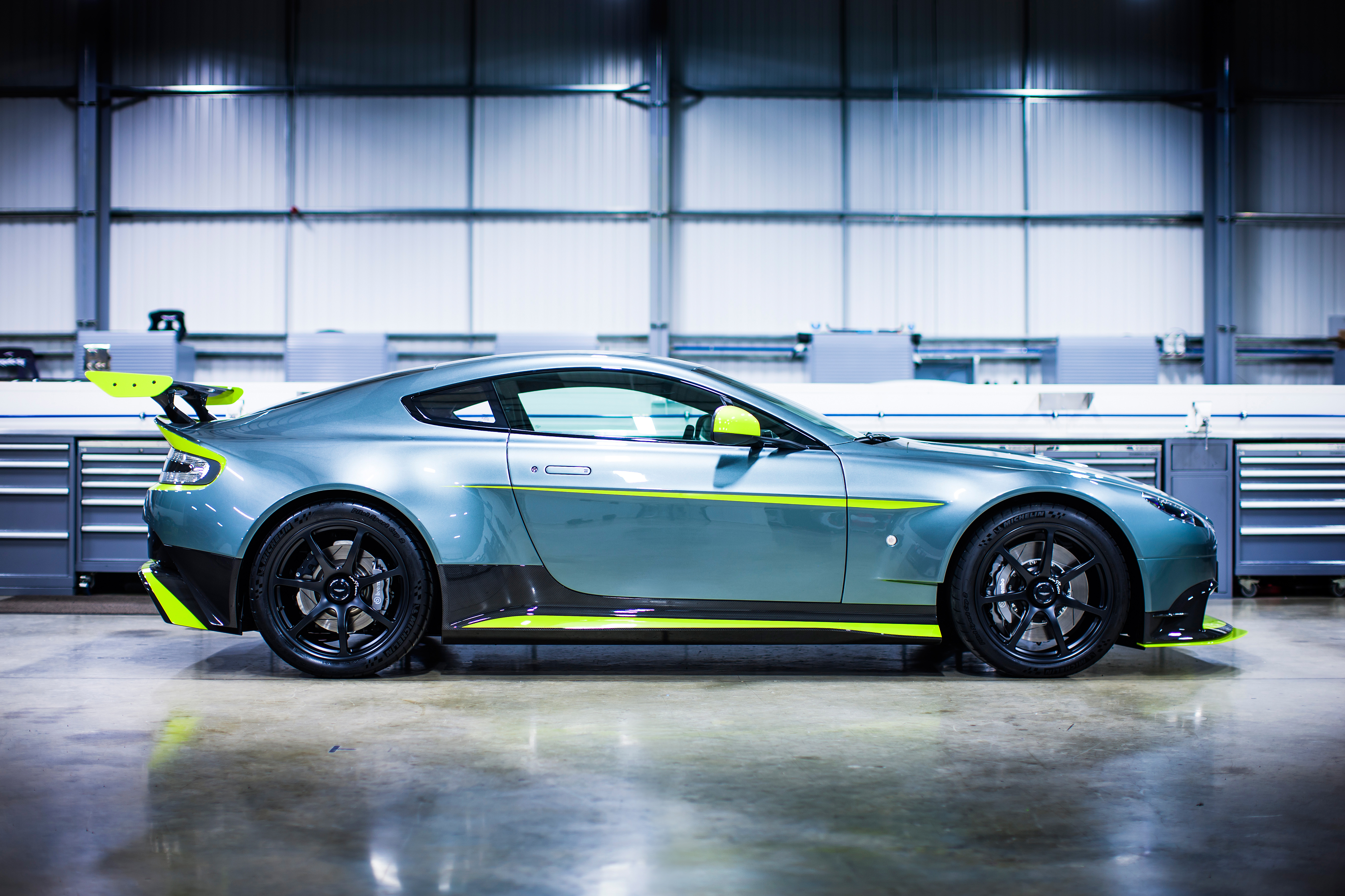 The Magnificent Aston Martin Vantage Gt8 Is A Road Legal Race Car