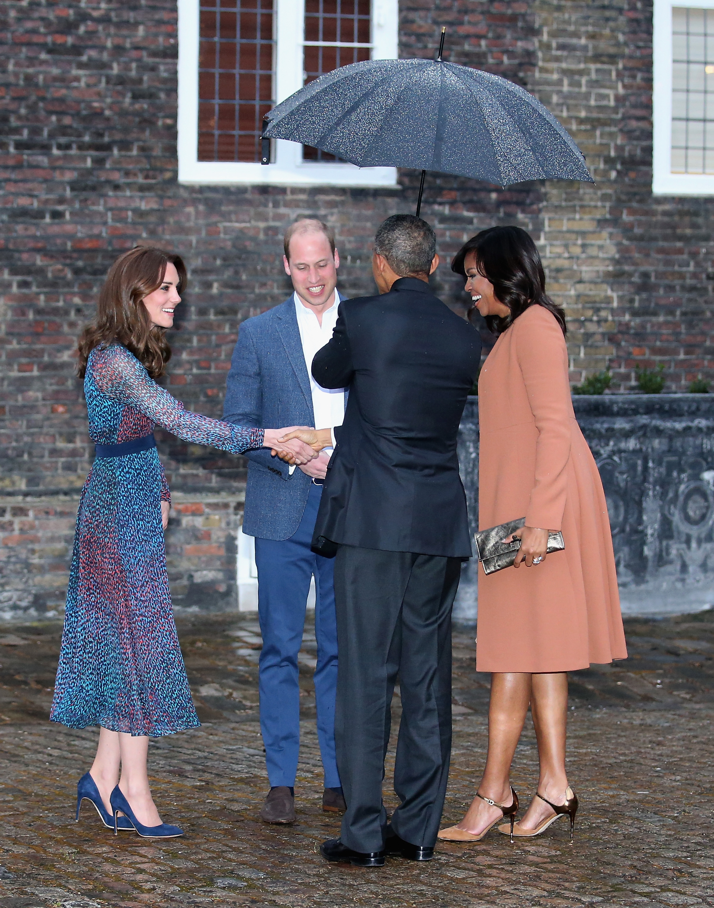 What Kate Middleton And Michelle Obama Are Wearing On