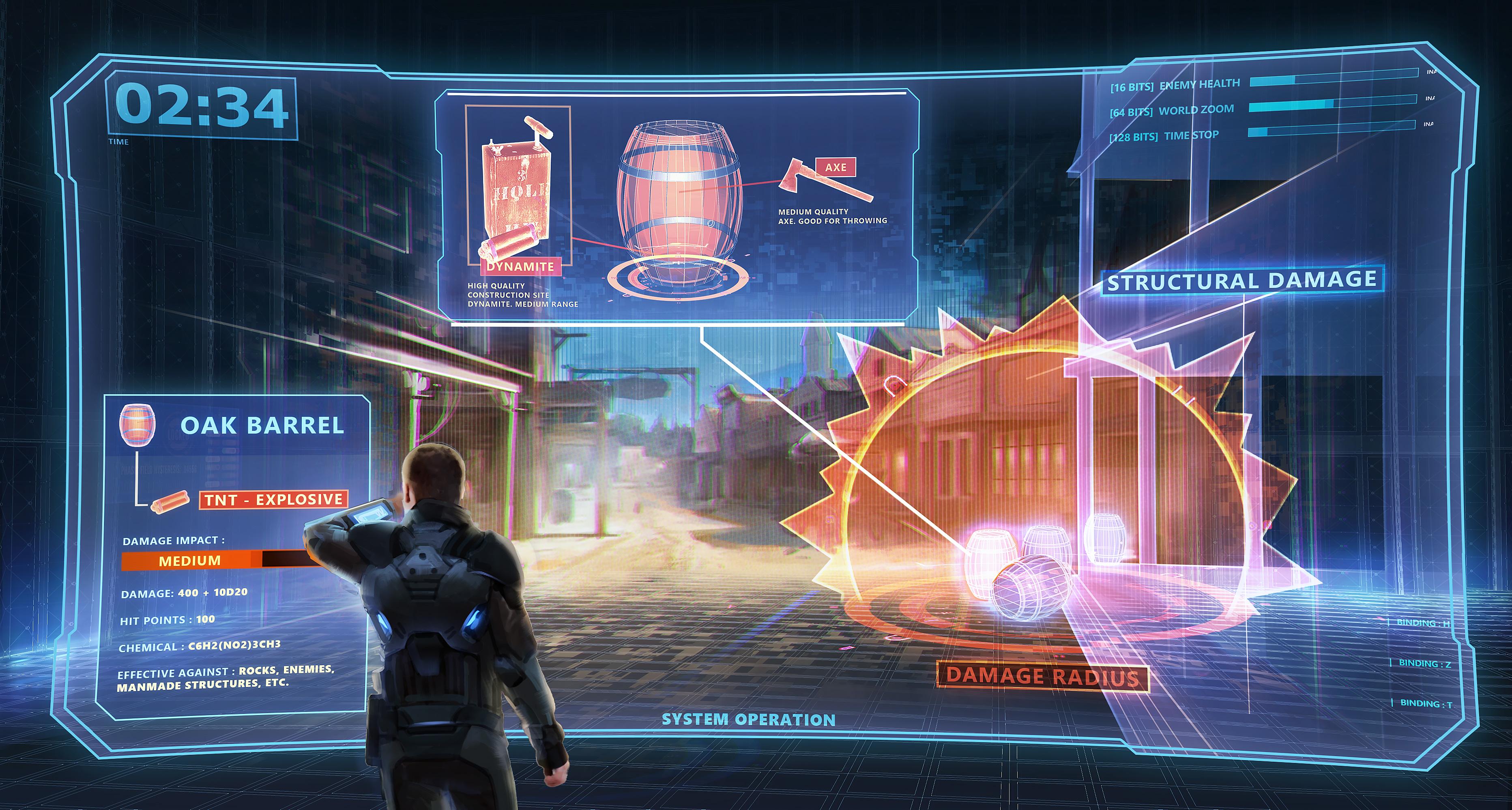 Adrian Carmack John Romero and Adrian Carmacks new FPS Blackroom is set in a