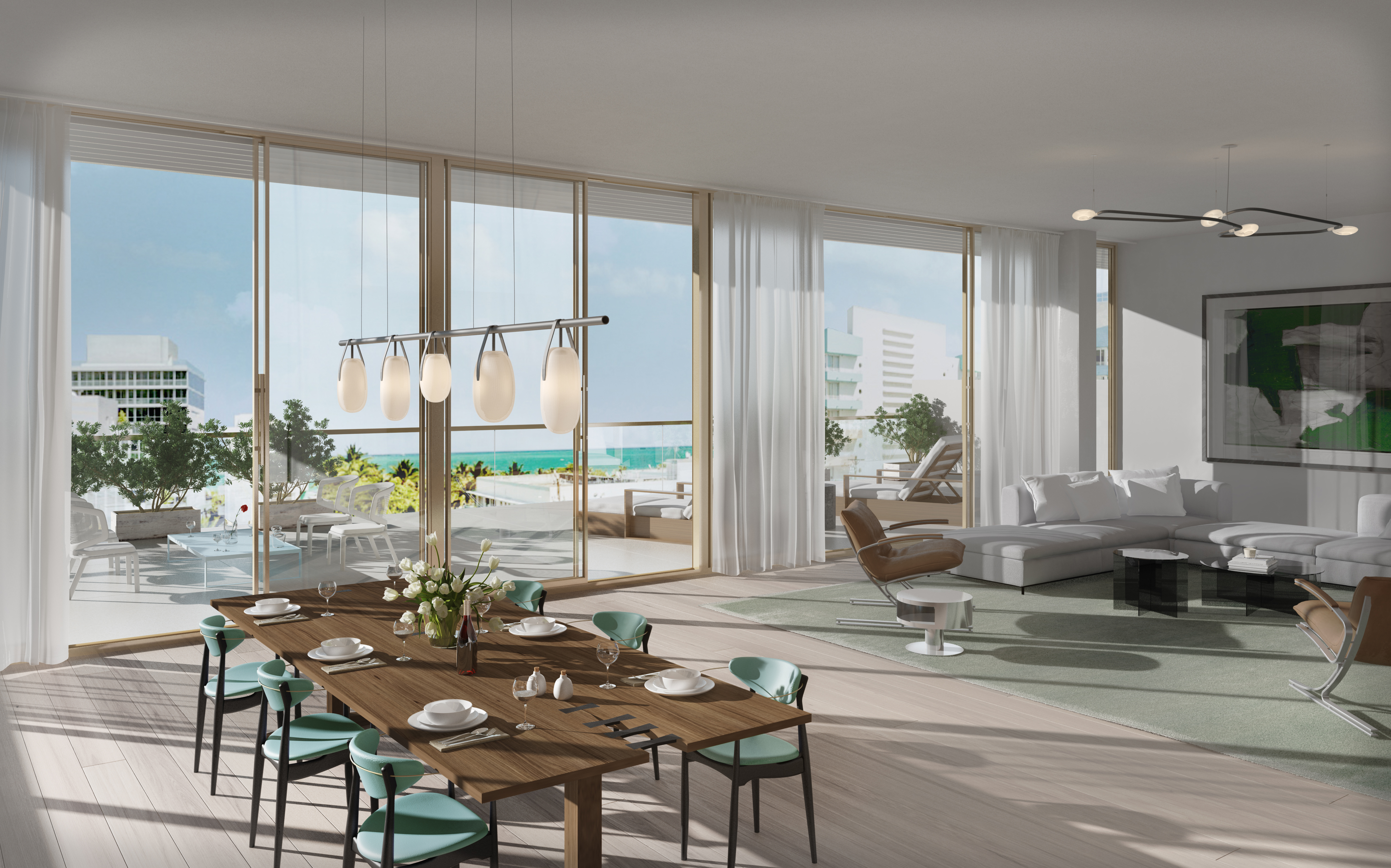 Three Hundred Collins Penthouse Sells For 58M