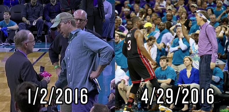 Purple Shirt Man heckled Dwyane Wade, took a loss for his efforts ...
