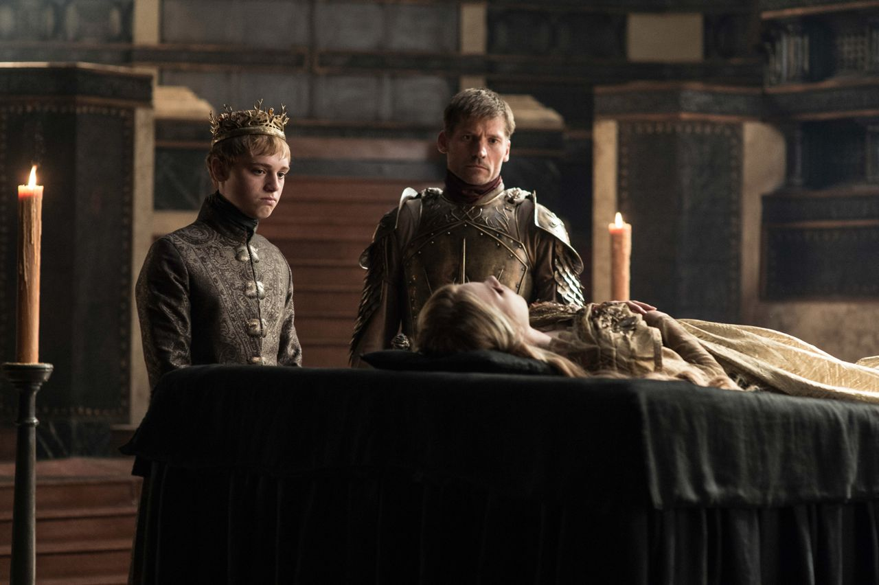 Game Of Thrones Sept Room King Dead