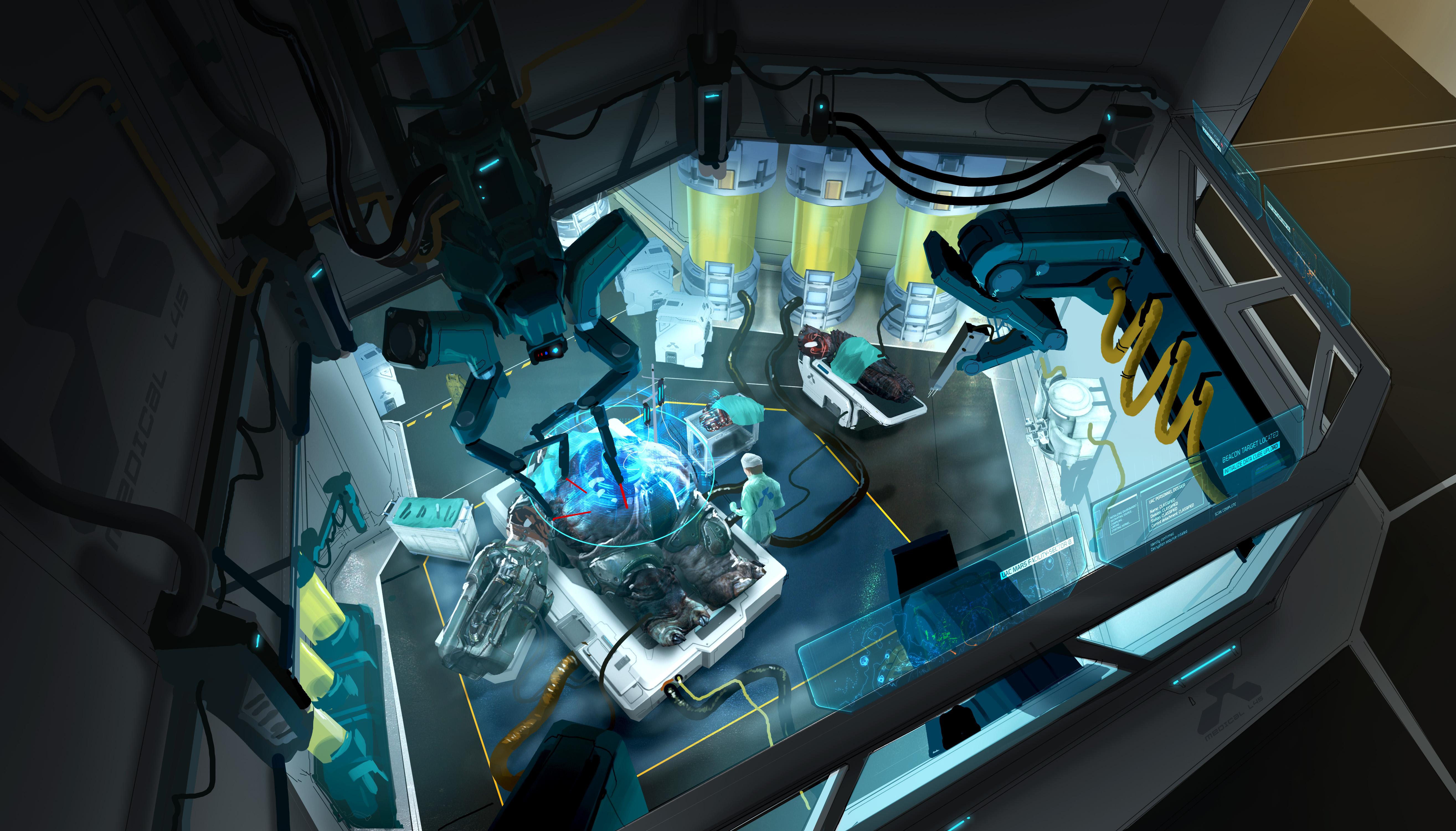 Doom concept art - The Verge