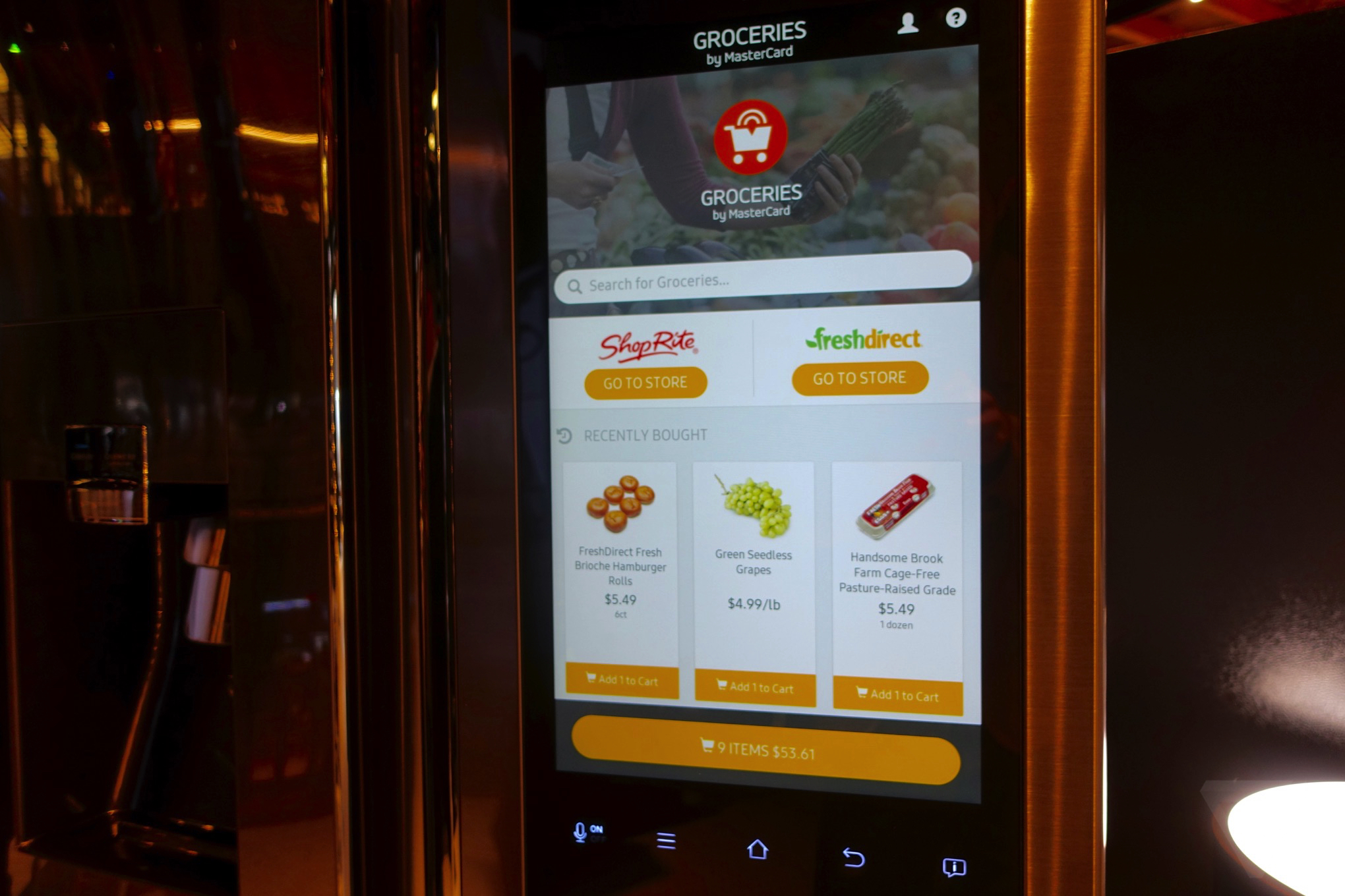 Samsung's Family Hub smart fridge is ridiculous, wonderful, and slow