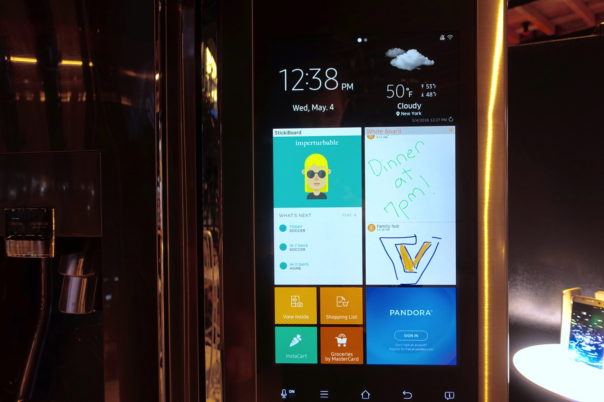 Samsungs Family Hub Smart Fridge Is Ridiculous Wonderful And Slow The Best 038 Free Android Applications For Electronics Electrical Engineers 1 Of 14