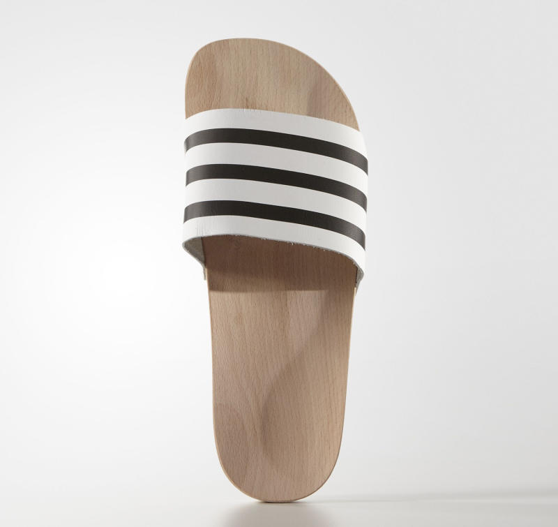 50c158e2e047 Adidas Is Selling Wooden Versions of Your Favorite Shower Shoes - Racked