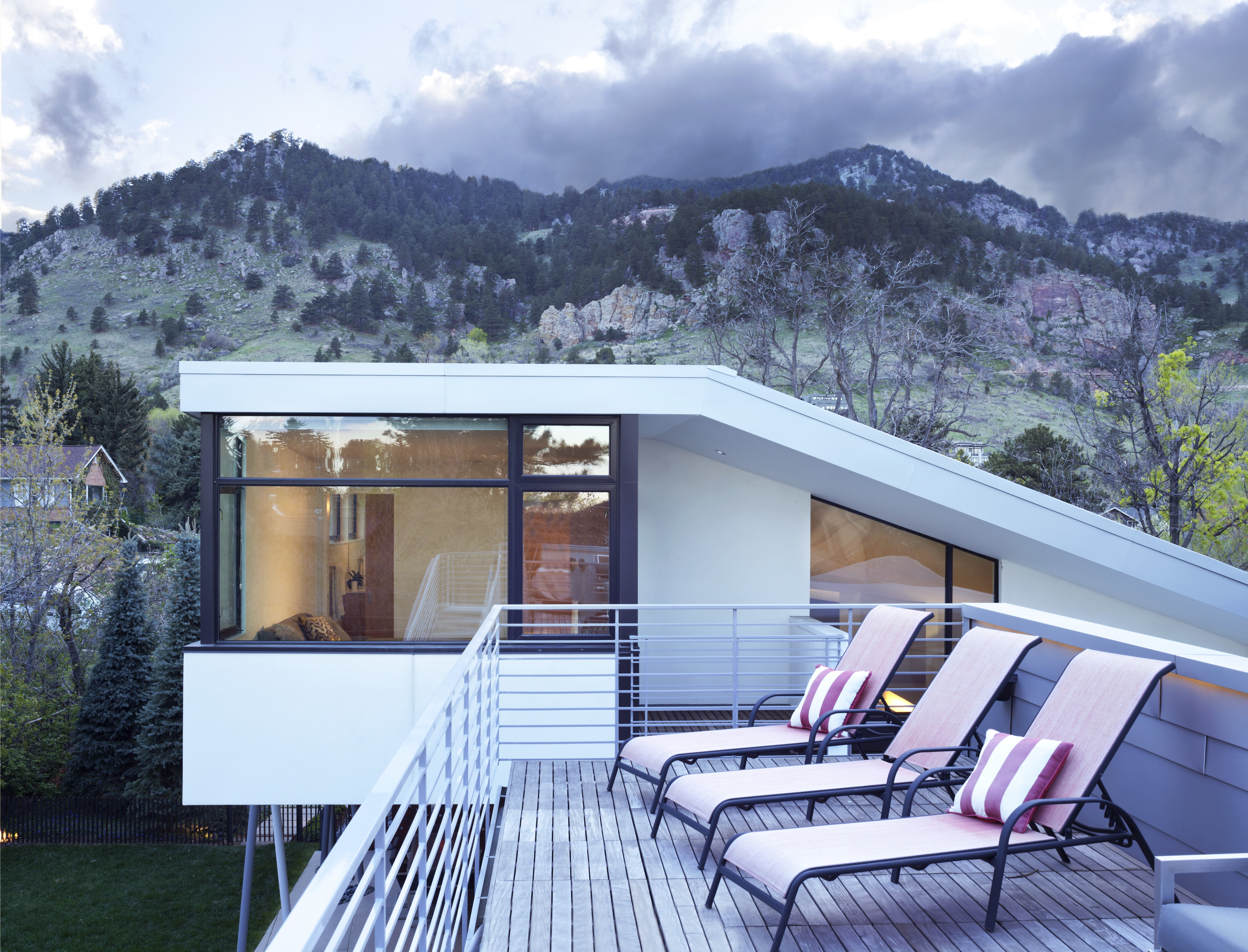 A Modern House in Boulder Built From Scratch Curbed
