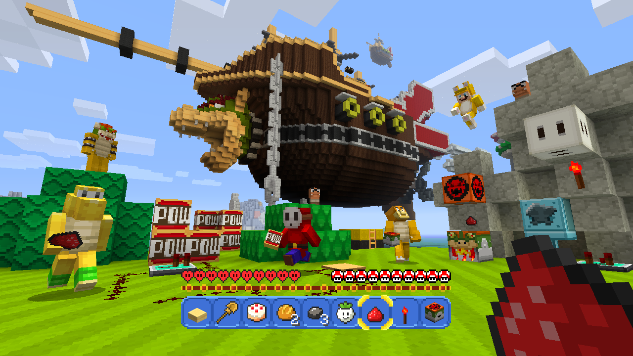 Nintendos New Minecraft Mash up Is A Love Letter To Super