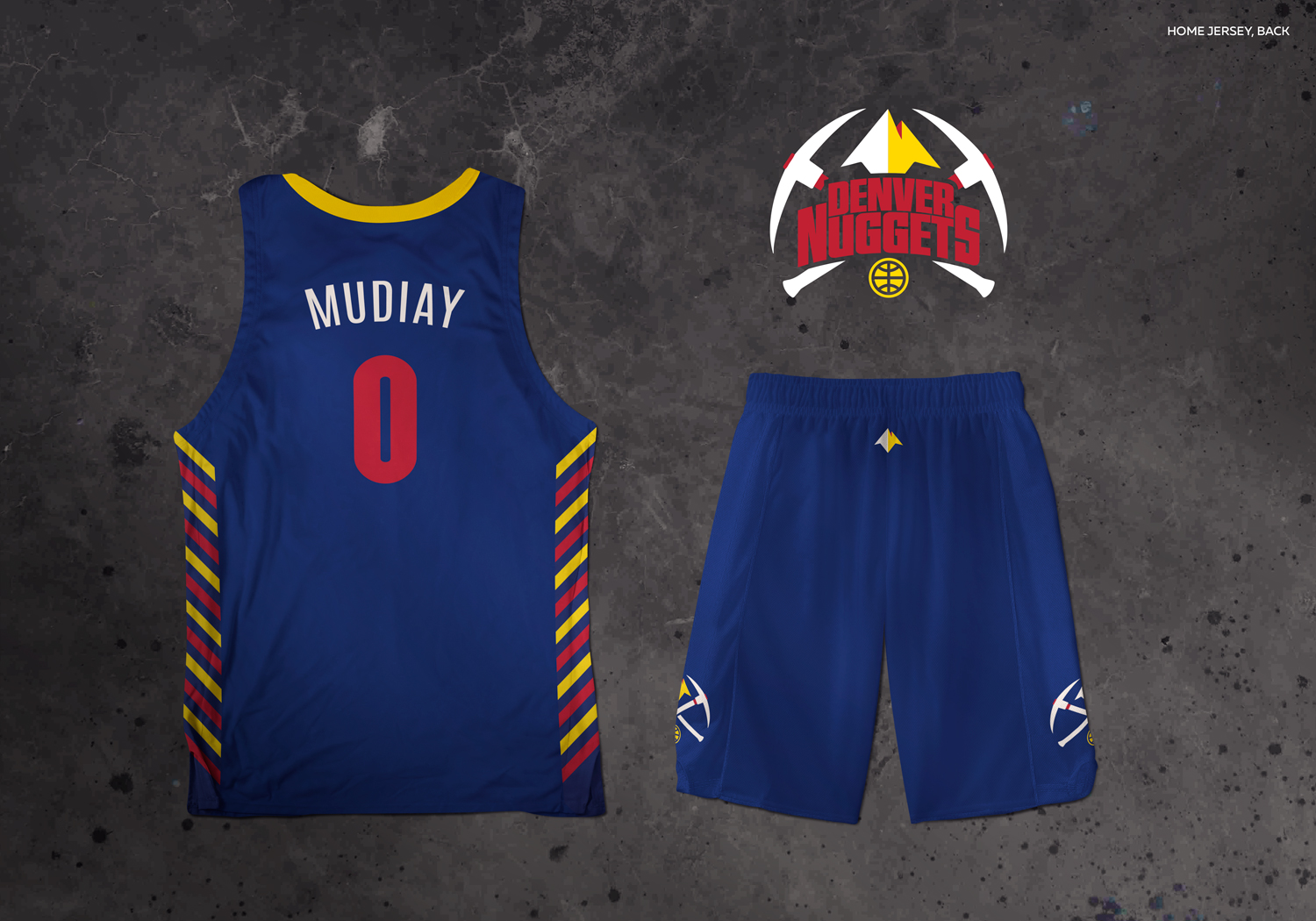 6fe00d8b5ba ... The Royal blue on the main jersey really pops! The color scheme and  design dont .