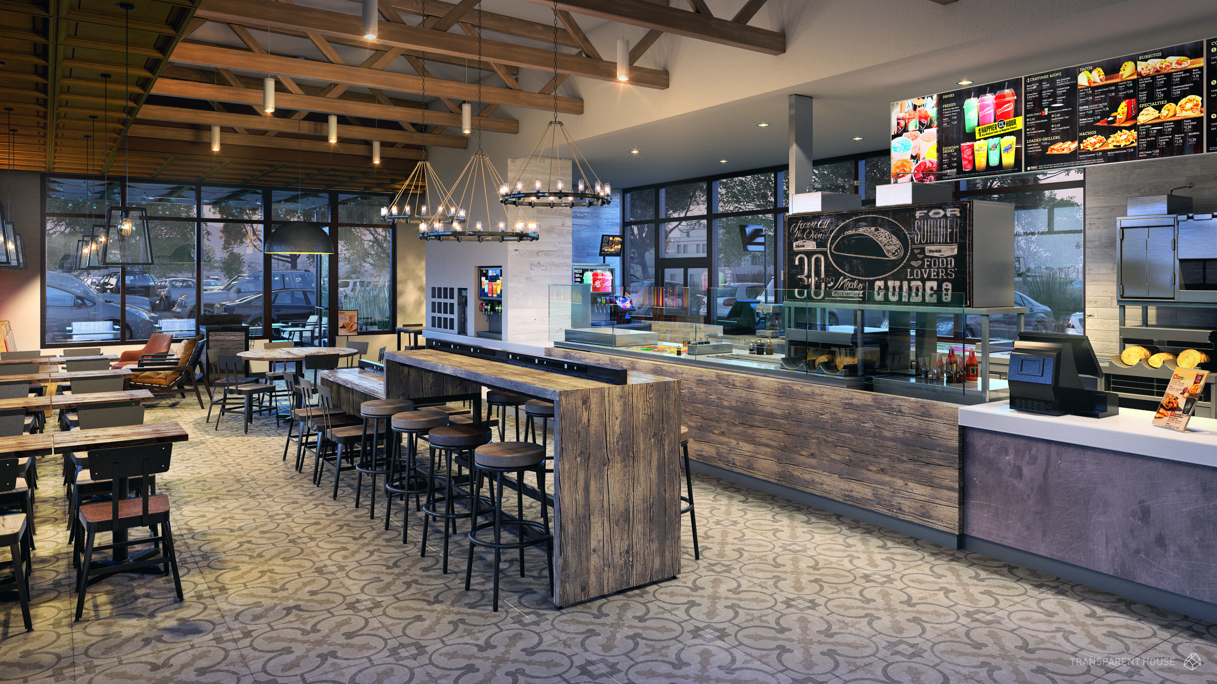 taco bell banks on upscale decor with four new store designs - eater