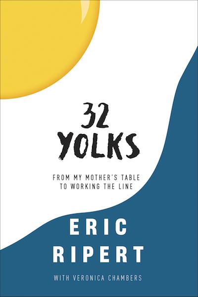 Eric Ripert  Yolks Book Tour