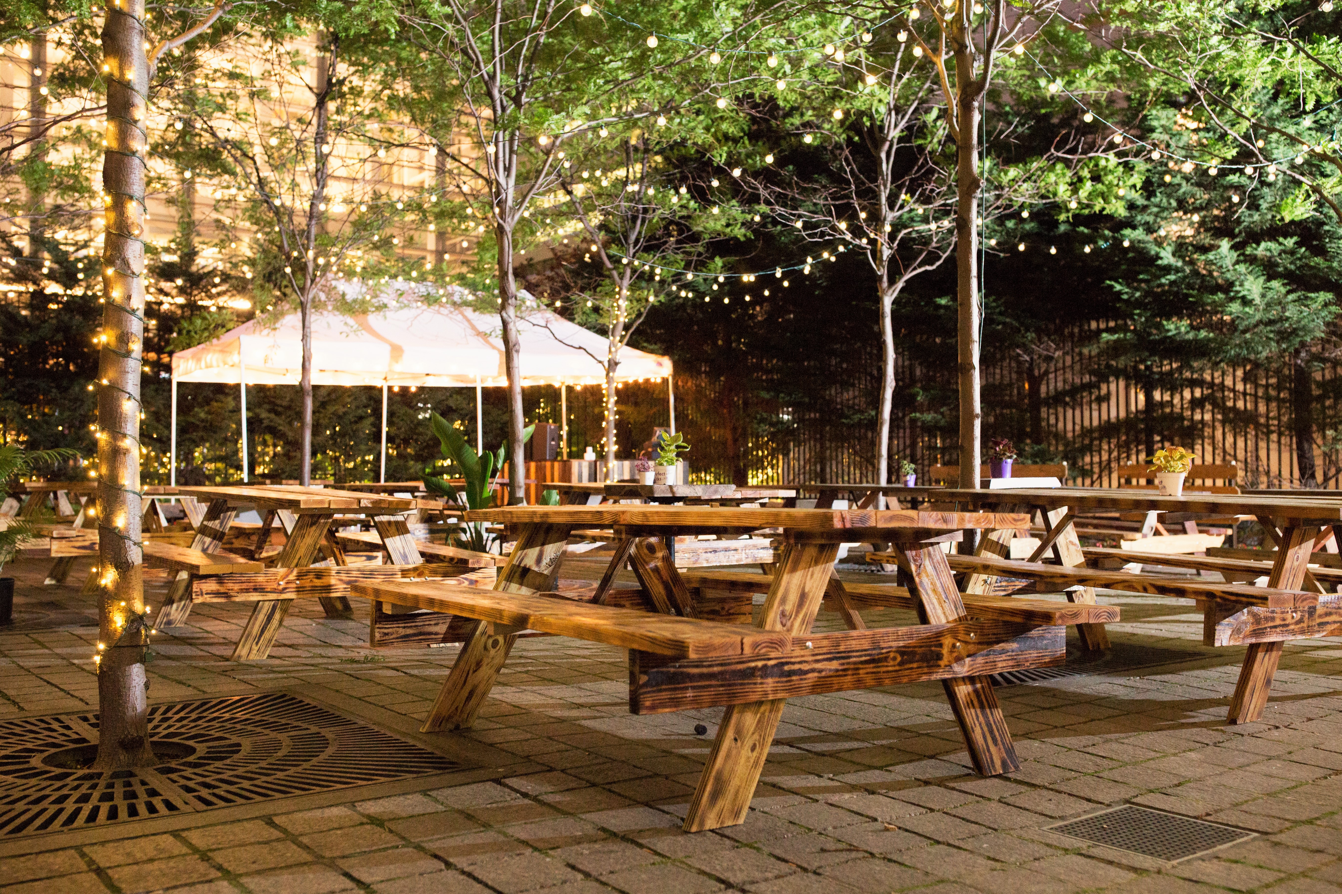 Check Out Uptown Beer Garden\'s New Look for 2016 - Eater Philly