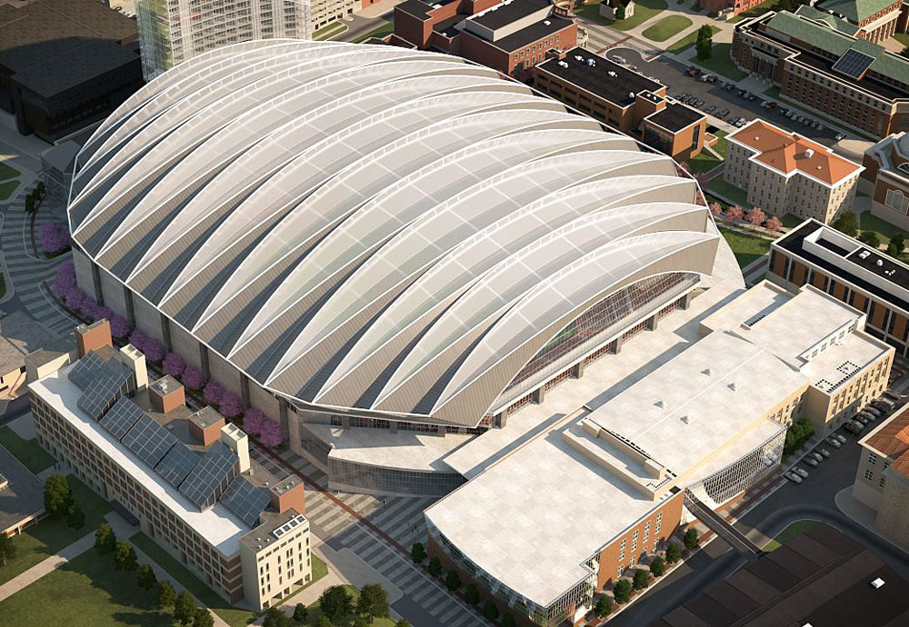 Check Out This Early Carrier Dome Renovation Rendering