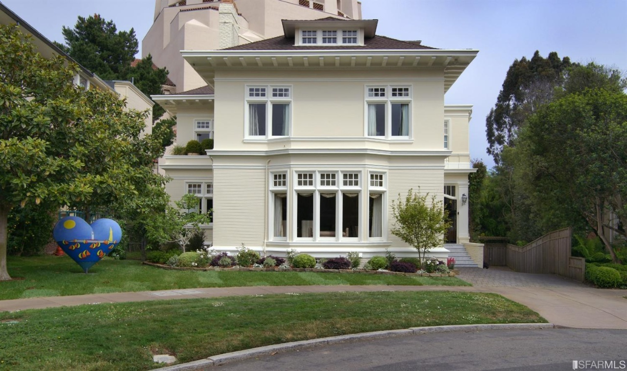 Home in gated super exclusive presidio terrace asks 16 9 for Mansions in san francisco for sale
