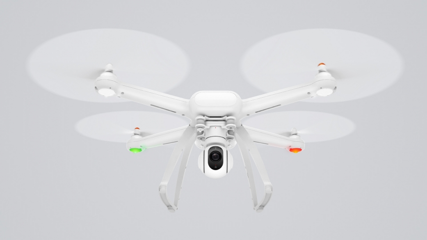 Xiaomi Unveils The Mi Drone Costing 460 For 4k Video Or