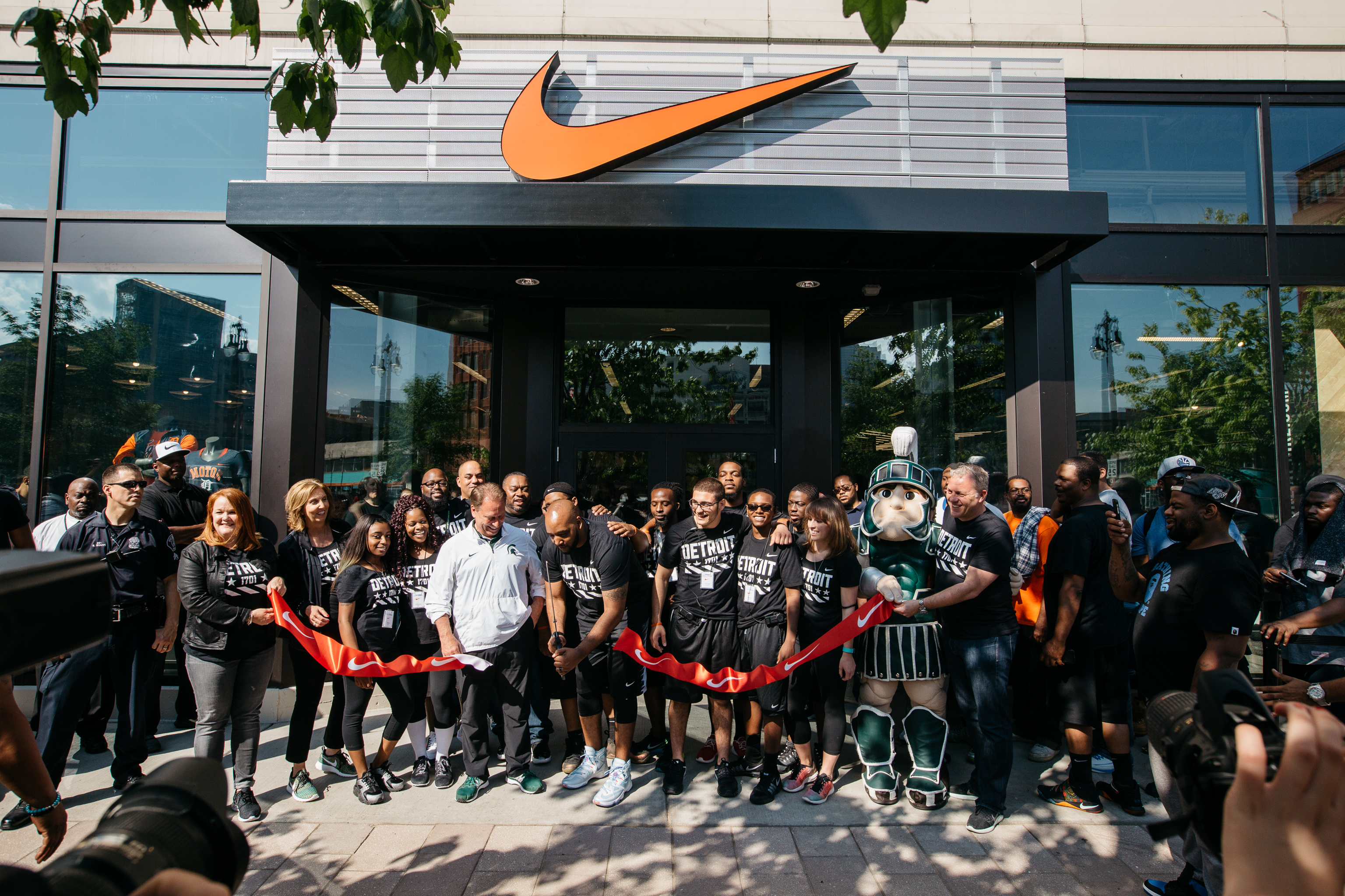 finest selection f86ec d0a3e Nike Community Store Opens Downtown - Curbed Detroit