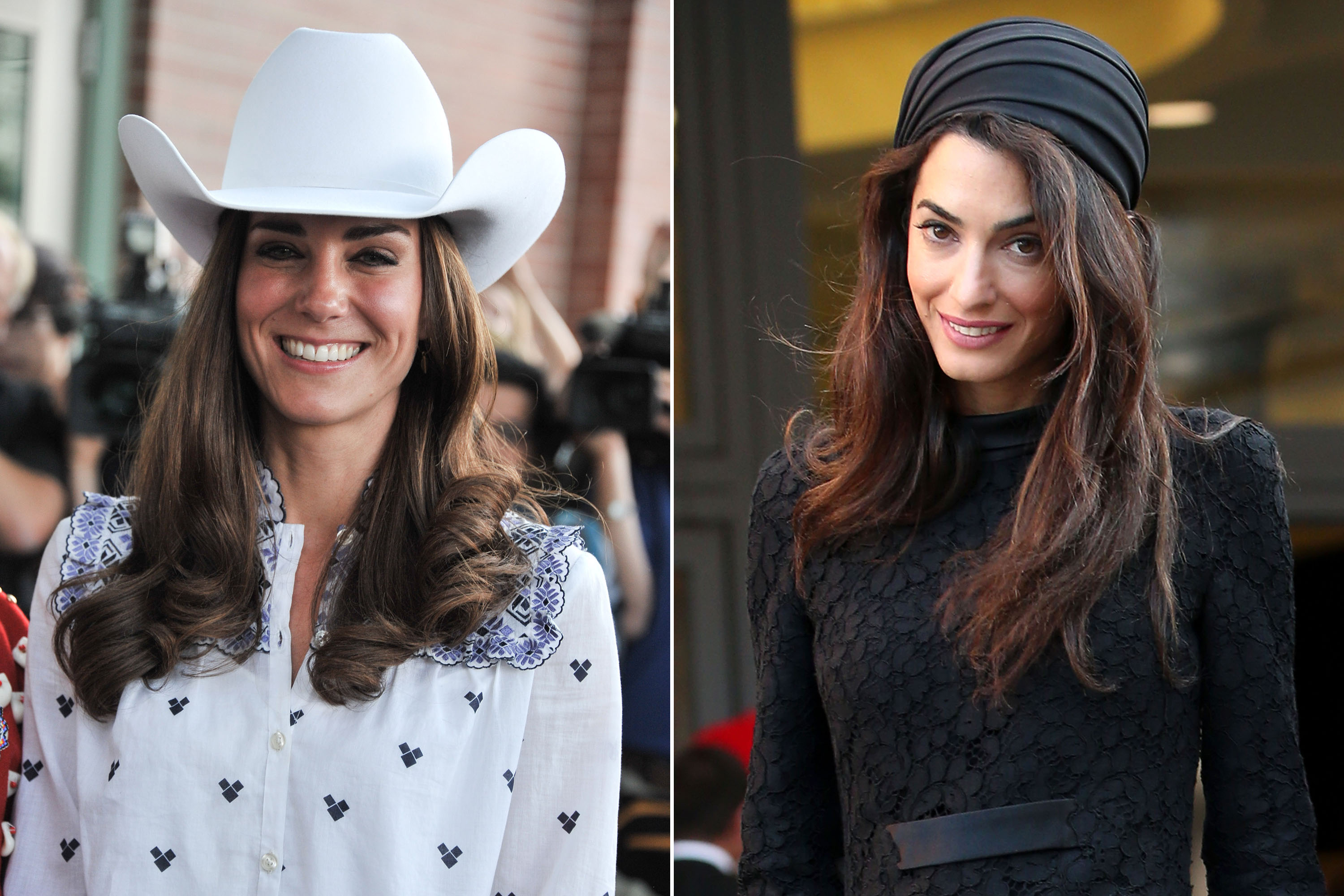 Kate Middleton Vs Amal Clooney Whose Hats Are Better