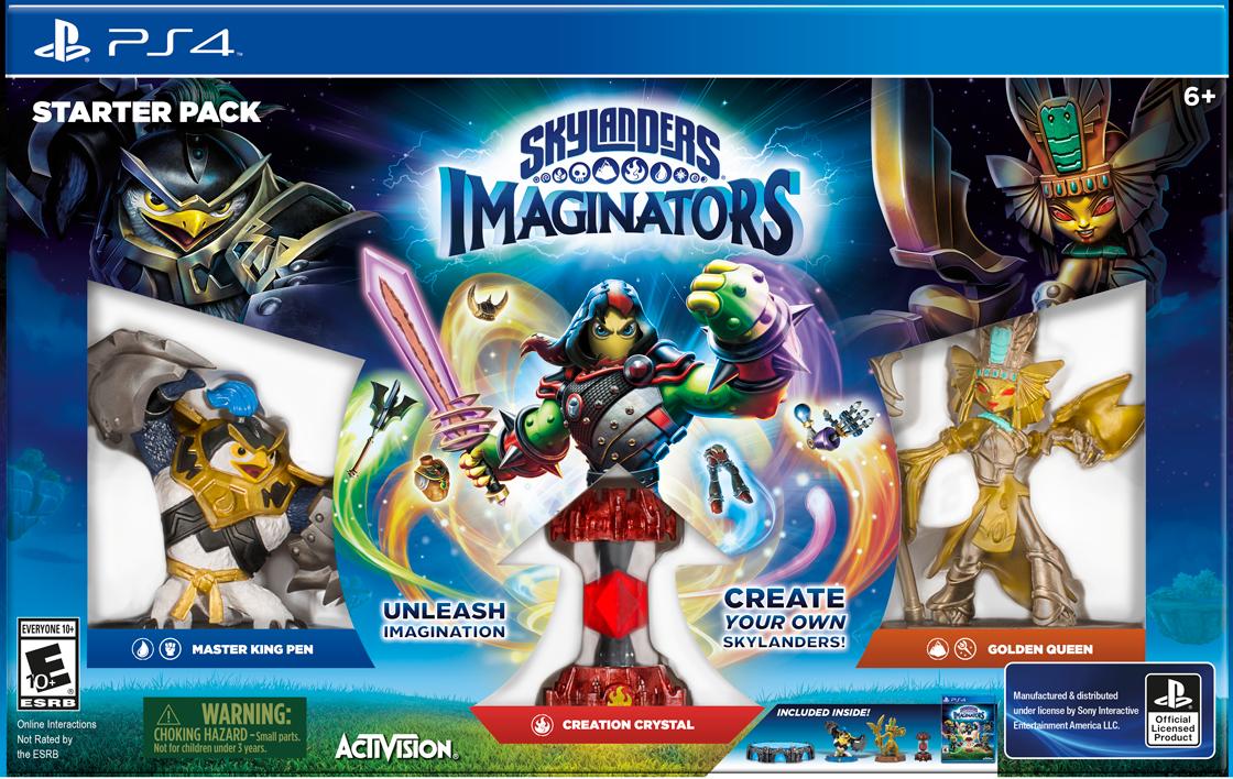 Uncategorized New Skylanders Game skylanders imaginators hands hero creation over to players polygon players