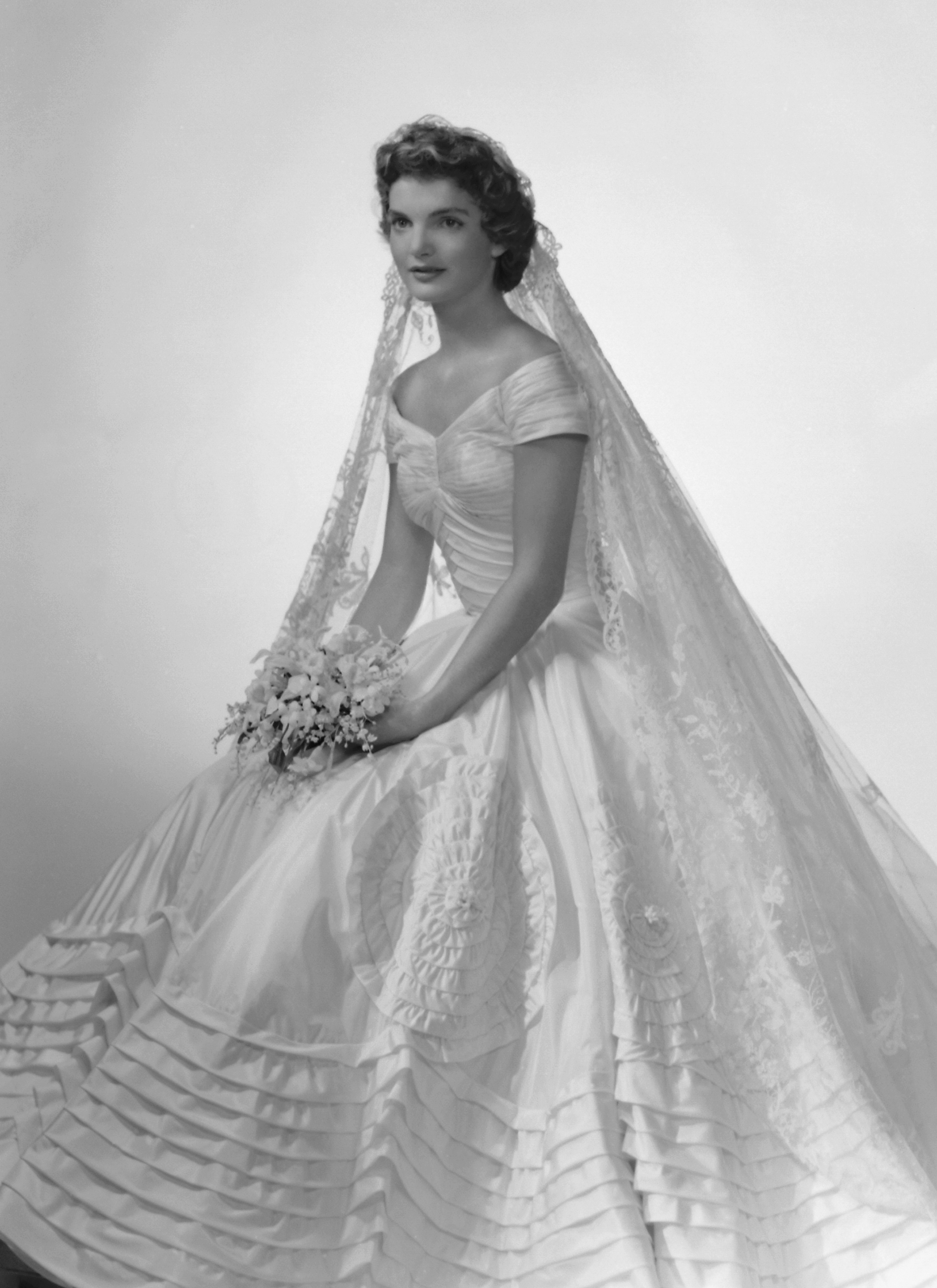The Most Iconic Celebrity Wedding Dresses Of All Time Racked