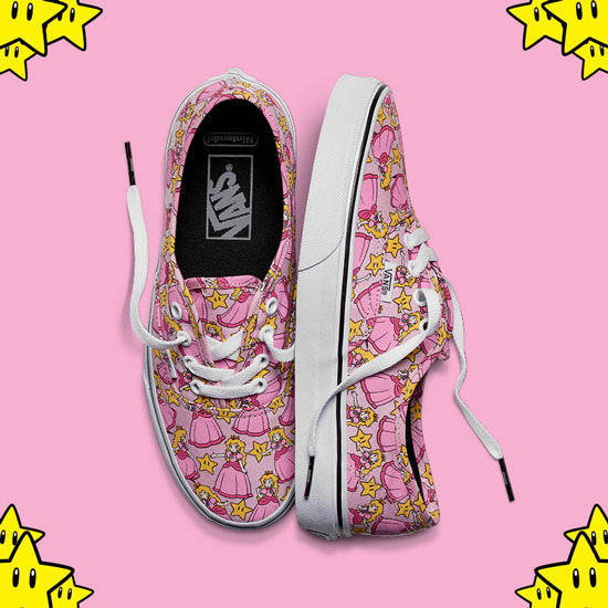 5eb8d56b3039e7 Authentics with Princess Peach in pink