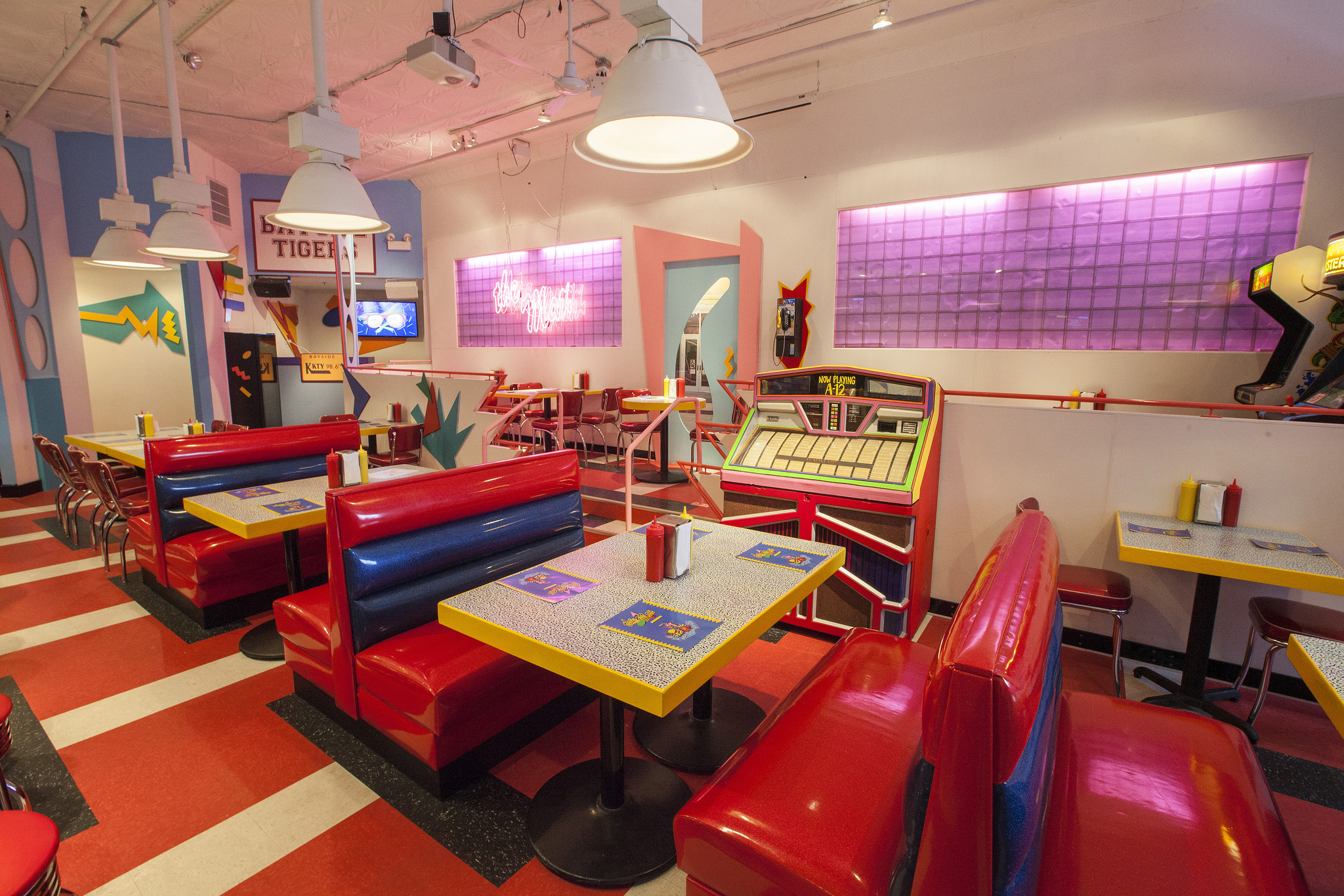Real Art Design Group Chicago : Look around the saved by bell pop up debuting today