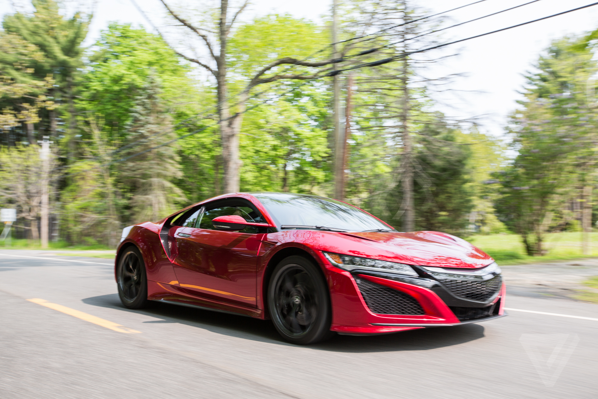 acura nsx review  gentler supercar  verge