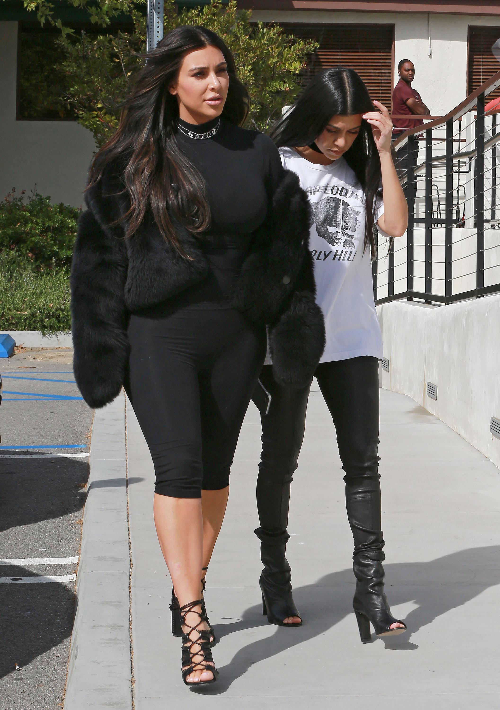 Kim Kardashian Is Hell-Bent on Making Bike Shorts a Thing Again - Racked