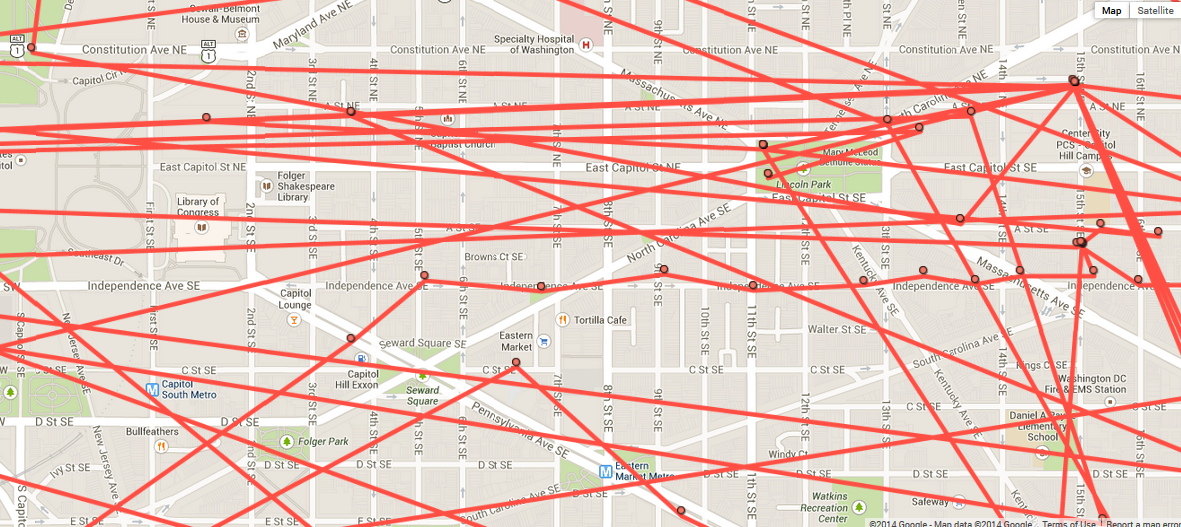 Google Maps Is Tracking Everywhere You Go Vox - Google map location history