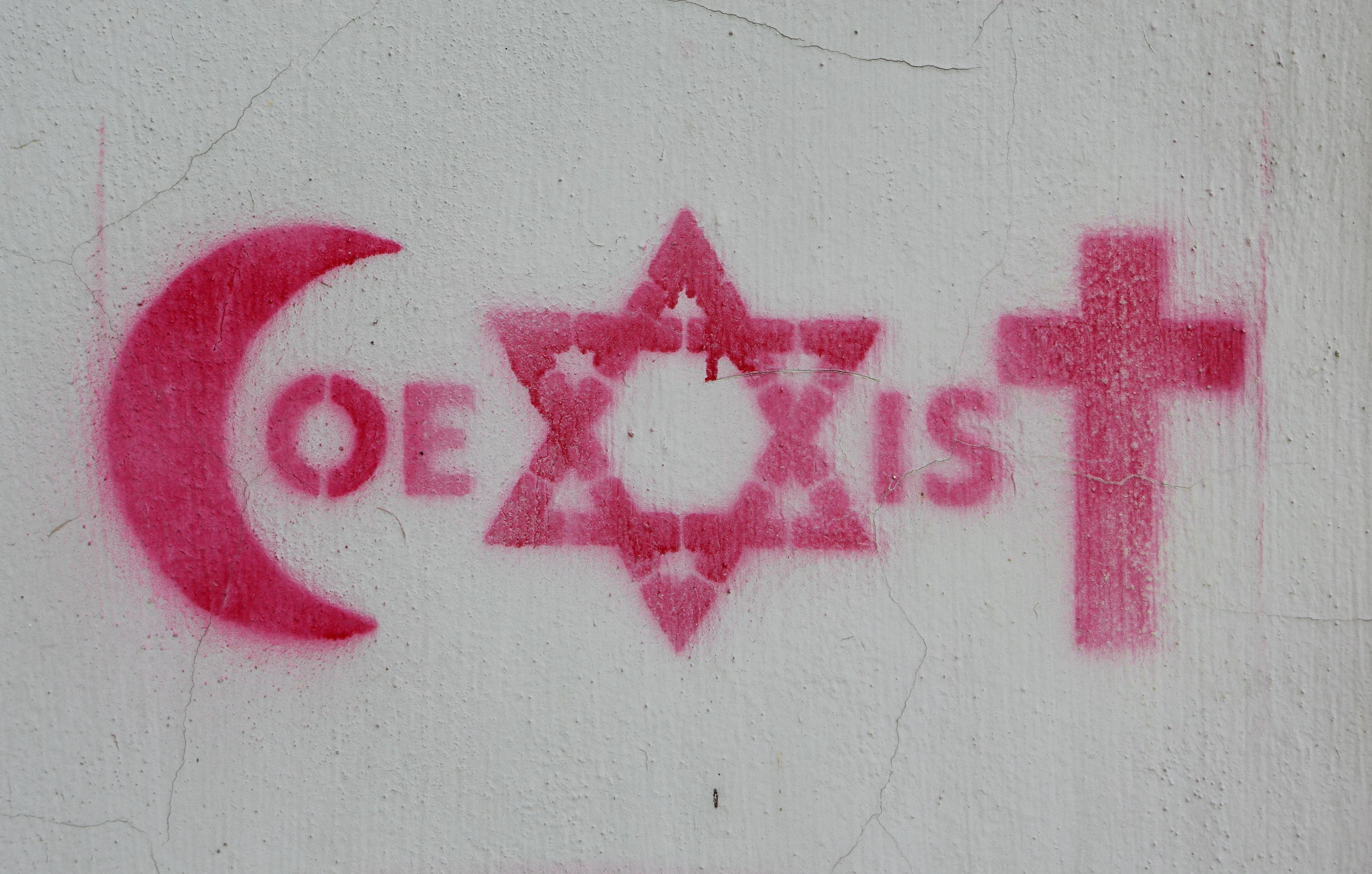 The big fight over coexist vox the coexist symbol in prague buycottarizona