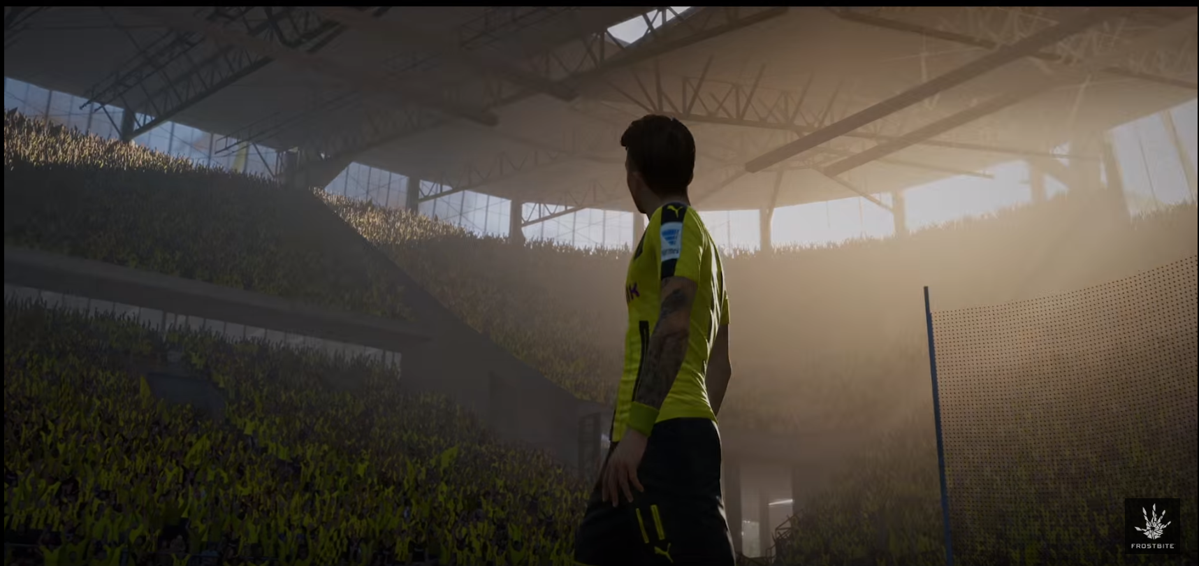 Dortmunds marco reus set to appear on fifa 17 cover fear the wall if the trailer does interest you the full game is released on september 29th voltagebd Choice Image