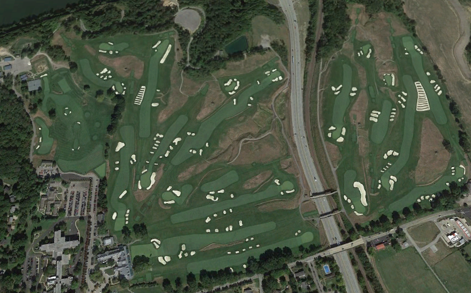 How A Dang Interstate Highway Ended Up In The Middle Of The US - Us open course map